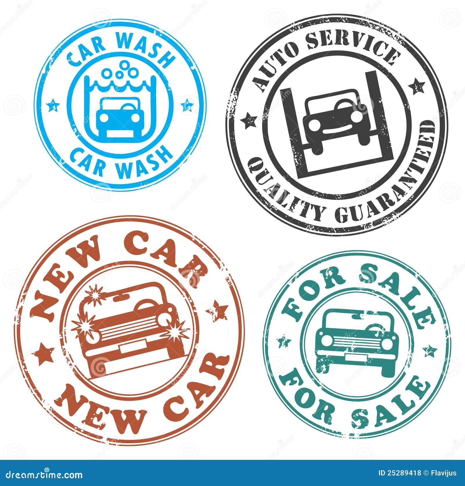 Car Sales Labels