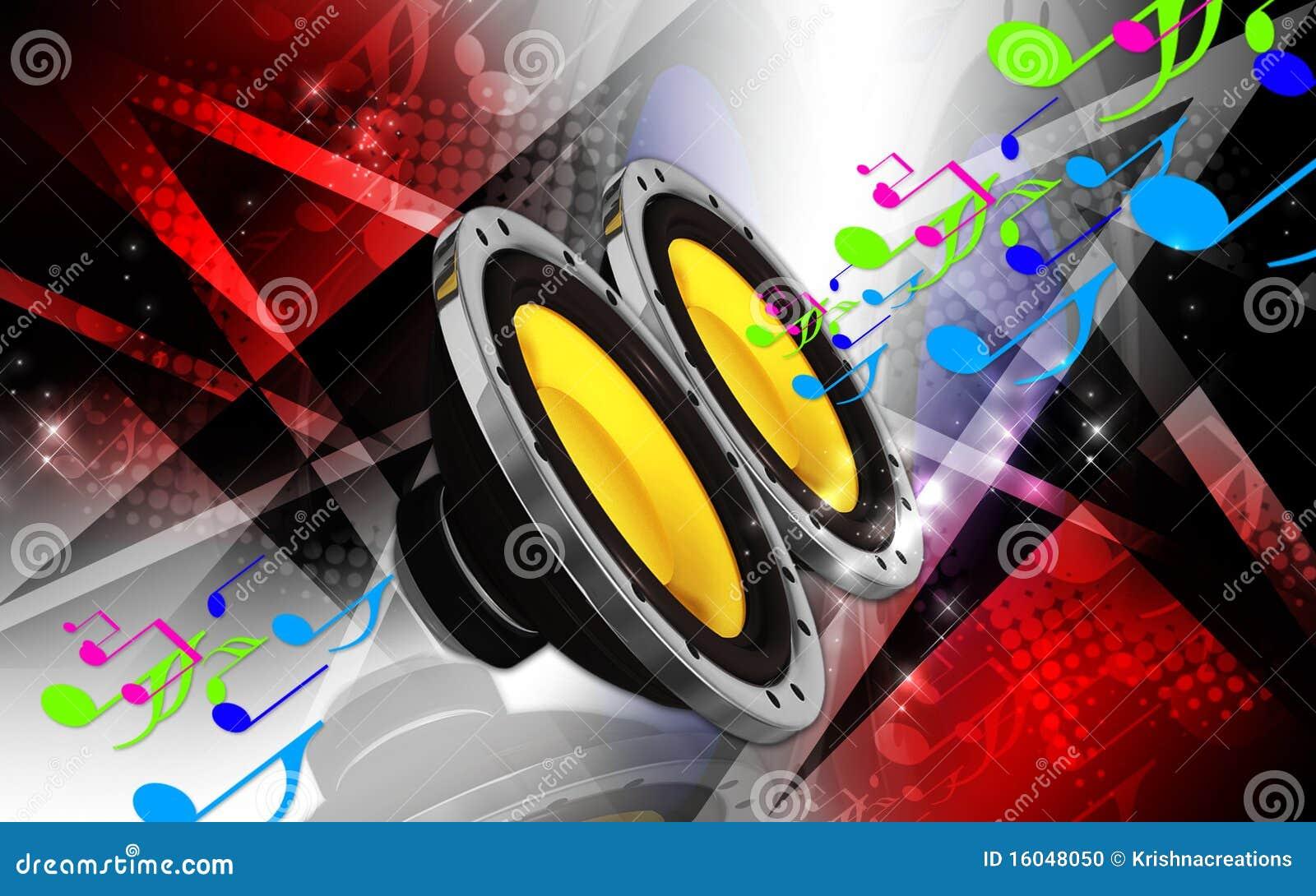 Car Stereo Stock Illustration Illustration Of Bass Blue 16048050