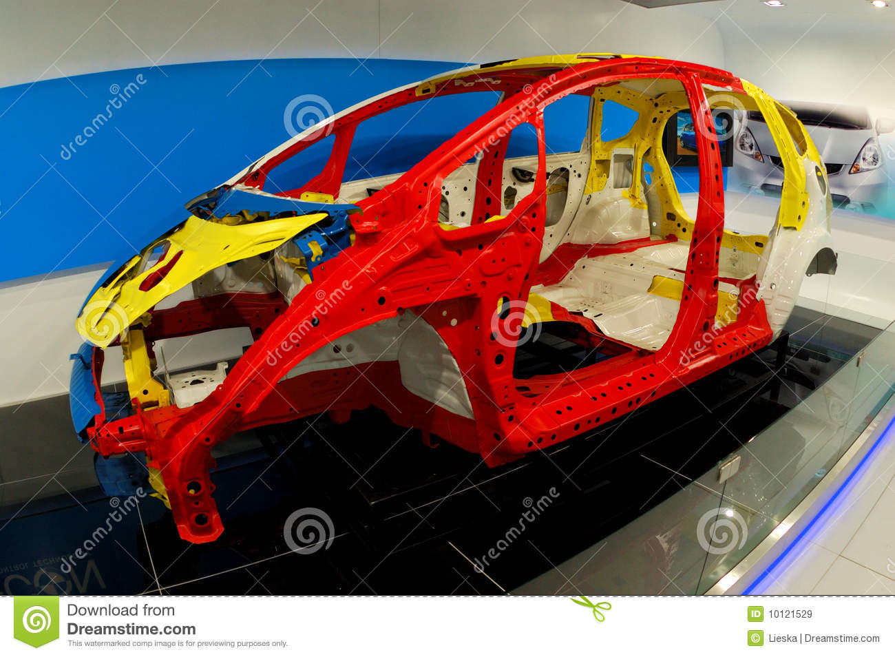 Car structure editorial stock image. Image of expo ...
