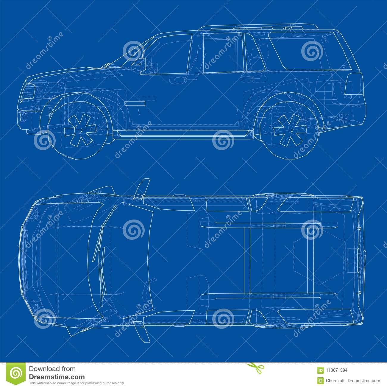 Car suv drawing outline stock illustration illustration of car suv drawing outline automotive simple royalty free illustration malvernweather Image collections
