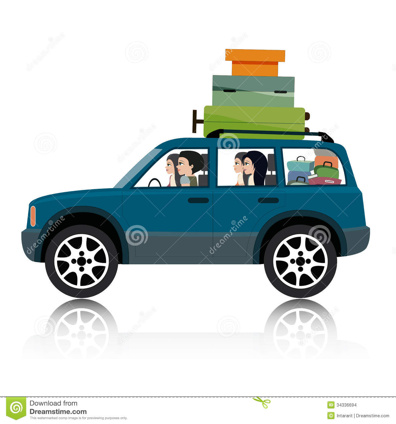 How To Drive With Luggage On Top Of Car