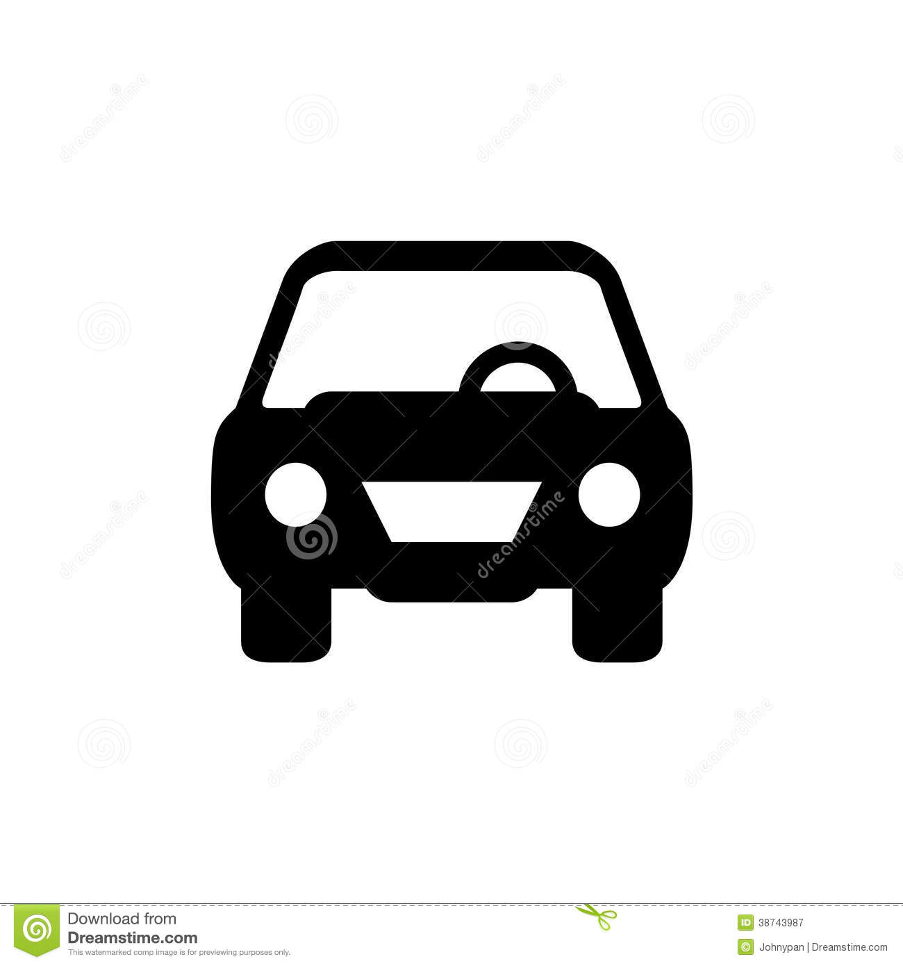Car Symbol Stock Illustration Illustration Of Sell Auto 38743987