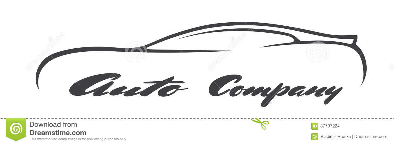 Car Symbols Silhouette Auto Company Dealer Vehicle Logo Vector Icon