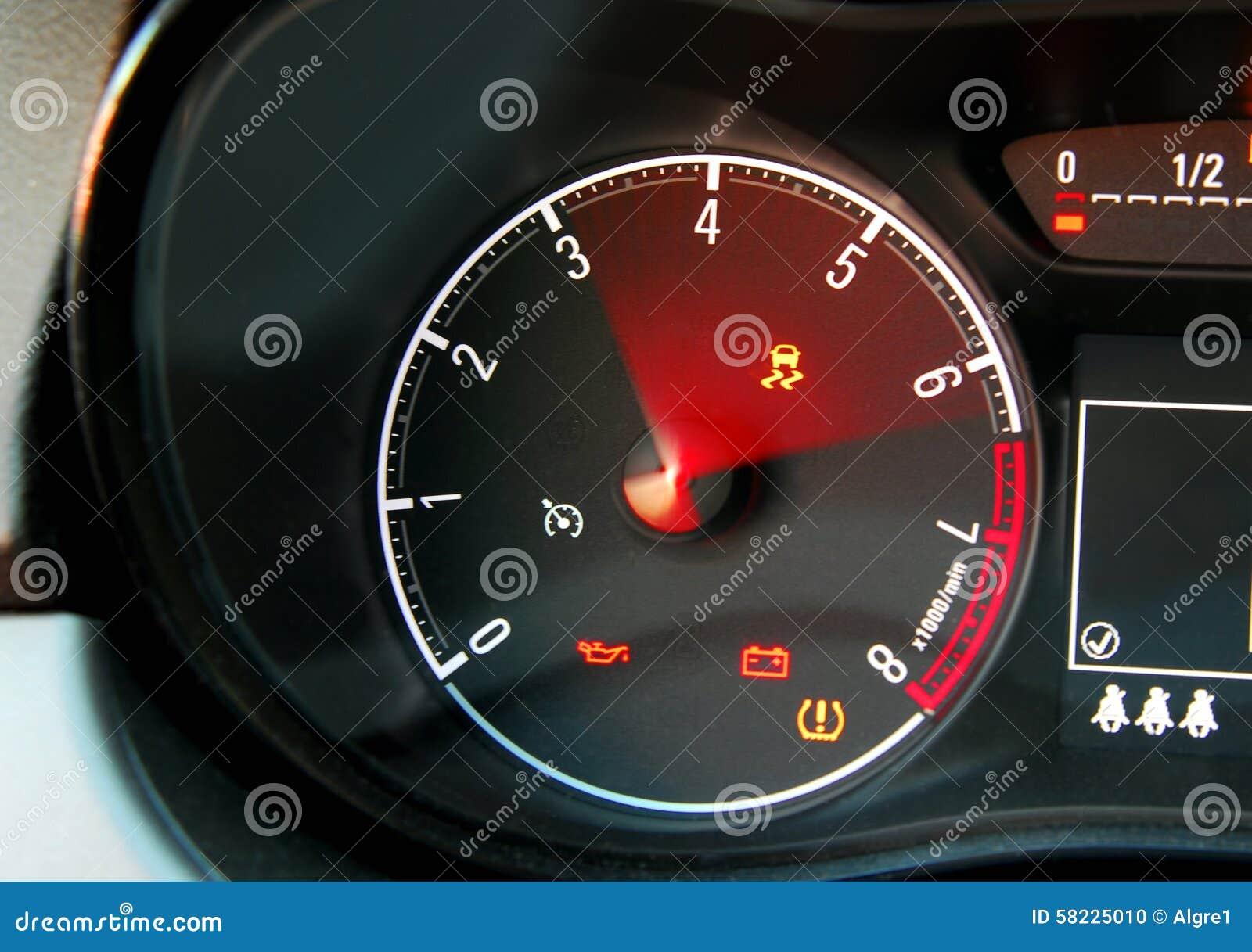 Car Tachometer Stock Photo Image Of Meter Fast Kilometer 58225010