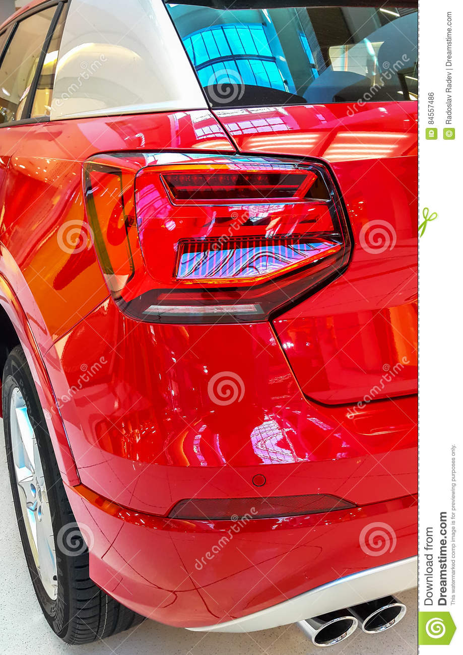 Car taillight or taillamp is a some of car.
