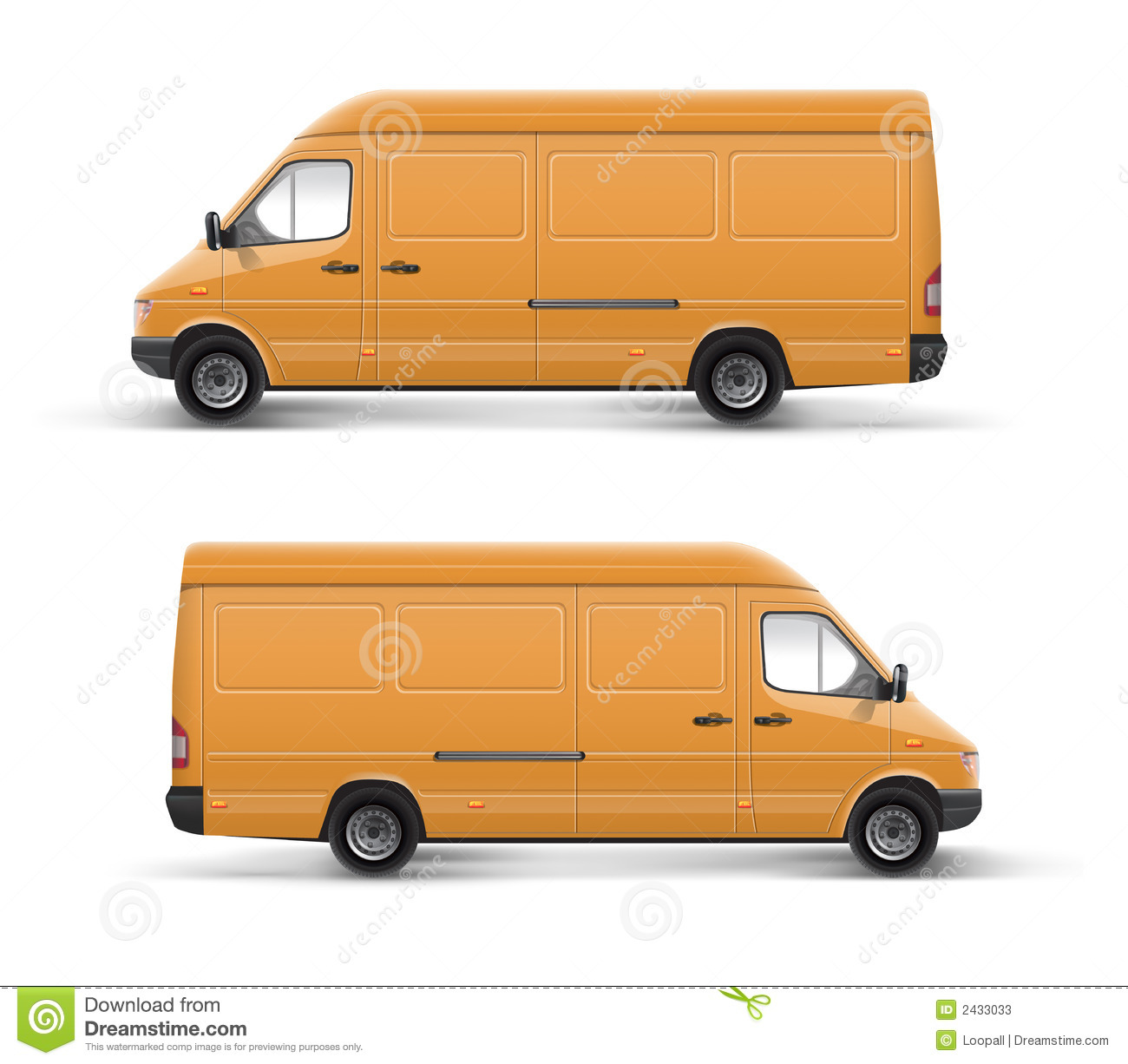 Truck Car Template Stock Images - Image: 2444384