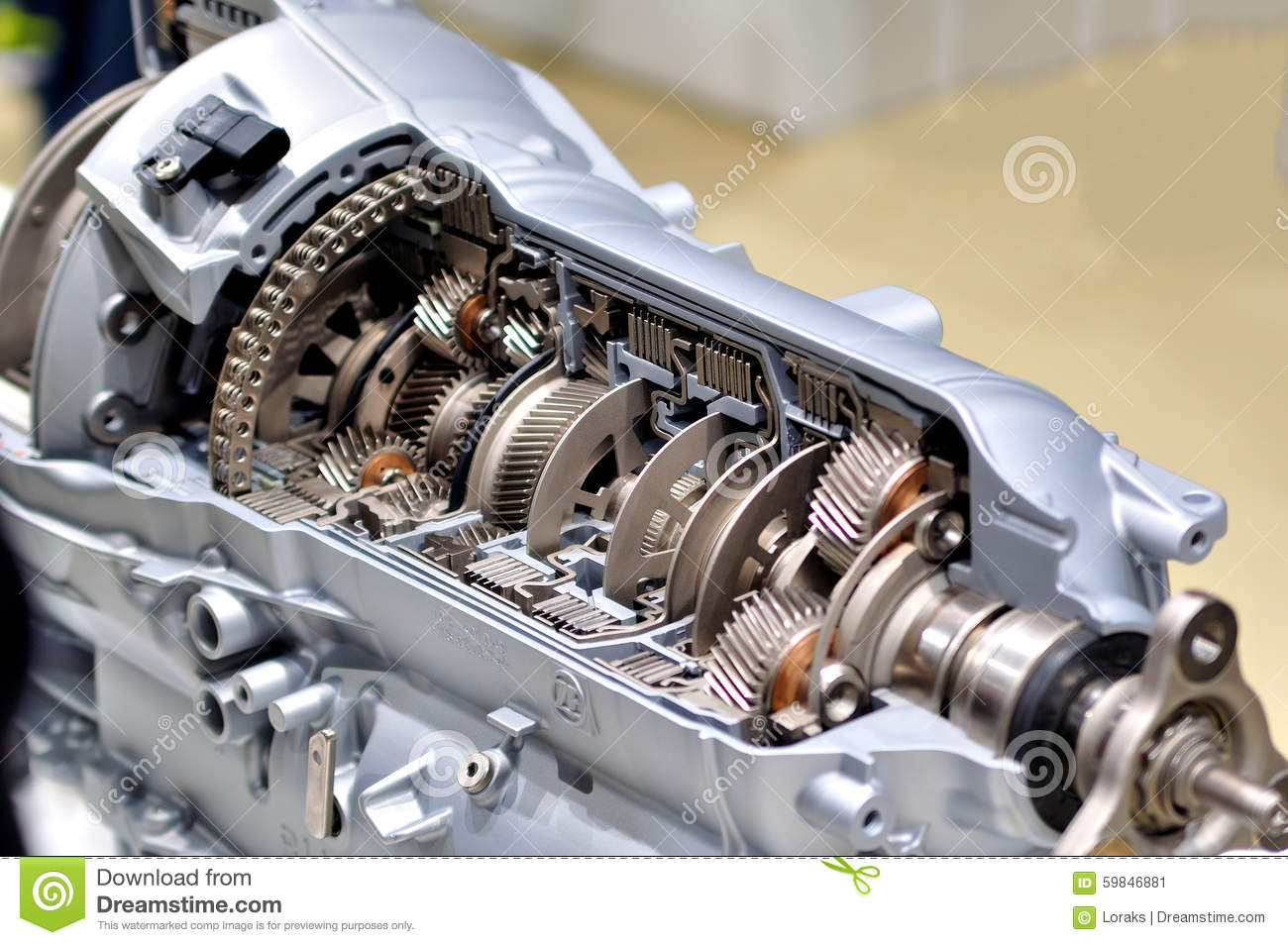 Car transmission  stock image  Image of auto, gearbox - 59846881