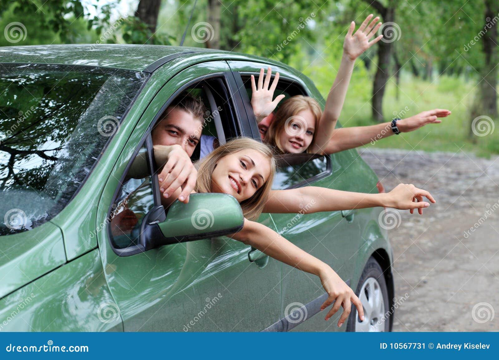 Car trip with friends