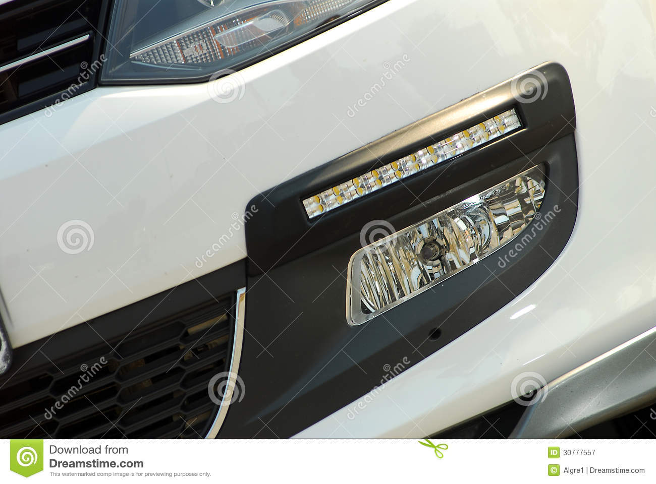 Led Per Auto Tuning.Car Tuning Stock Image Image Of Speed Sport Auto Lamp