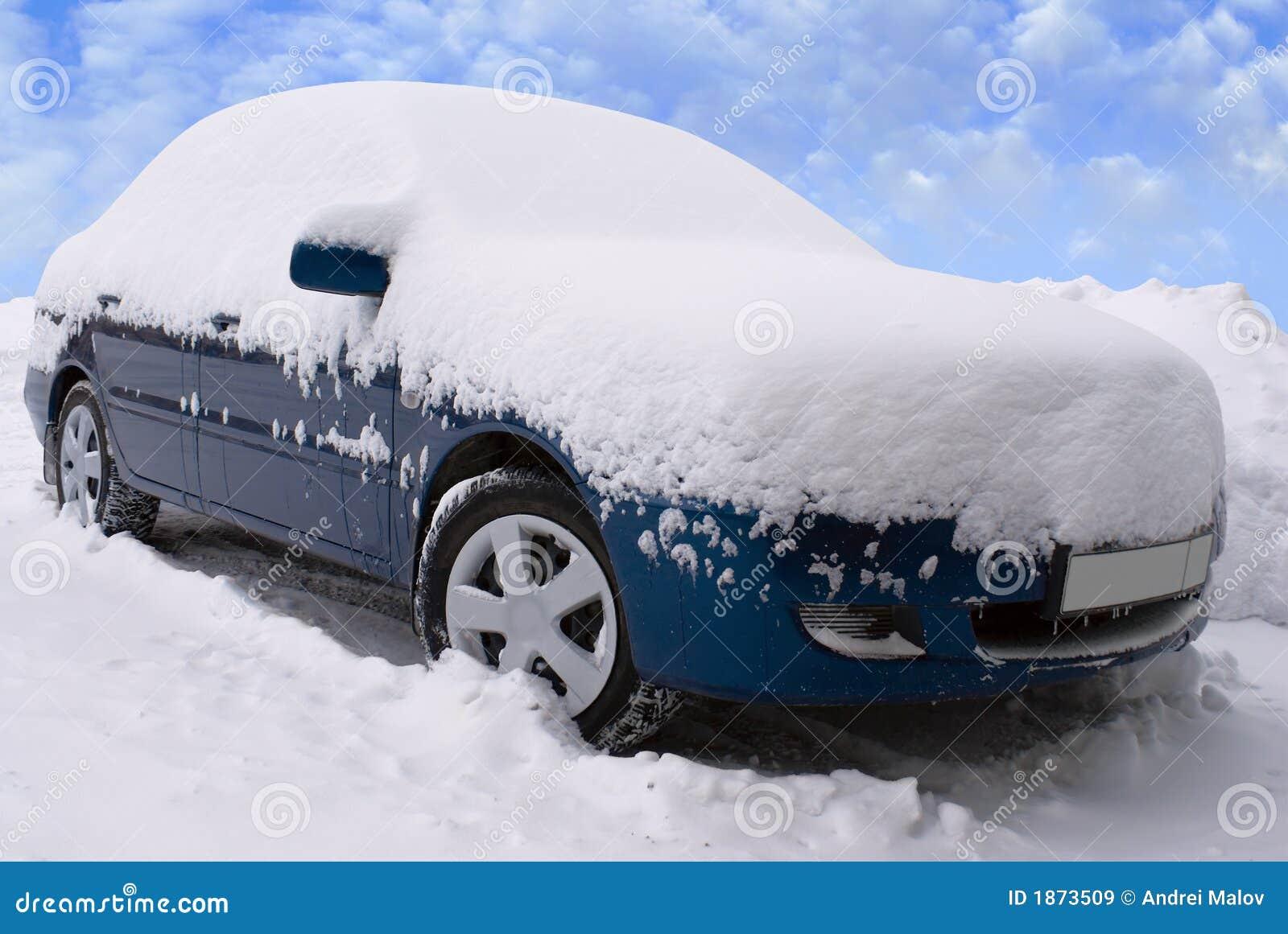 car under snow stock image image of outdoor engine fall 1873509. Black Bedroom Furniture Sets. Home Design Ideas
