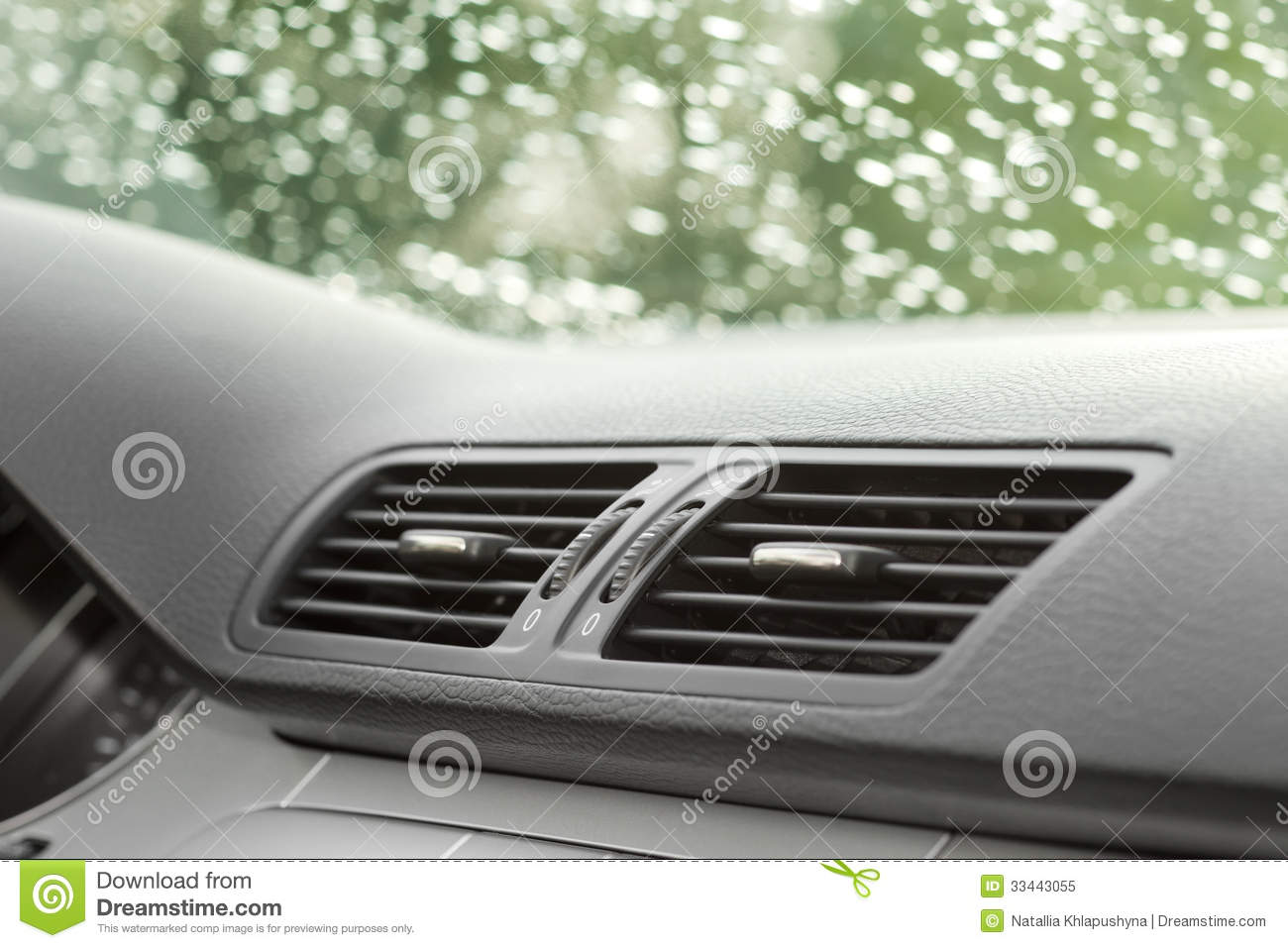 Air conditioning and car ventilation system. #82A328