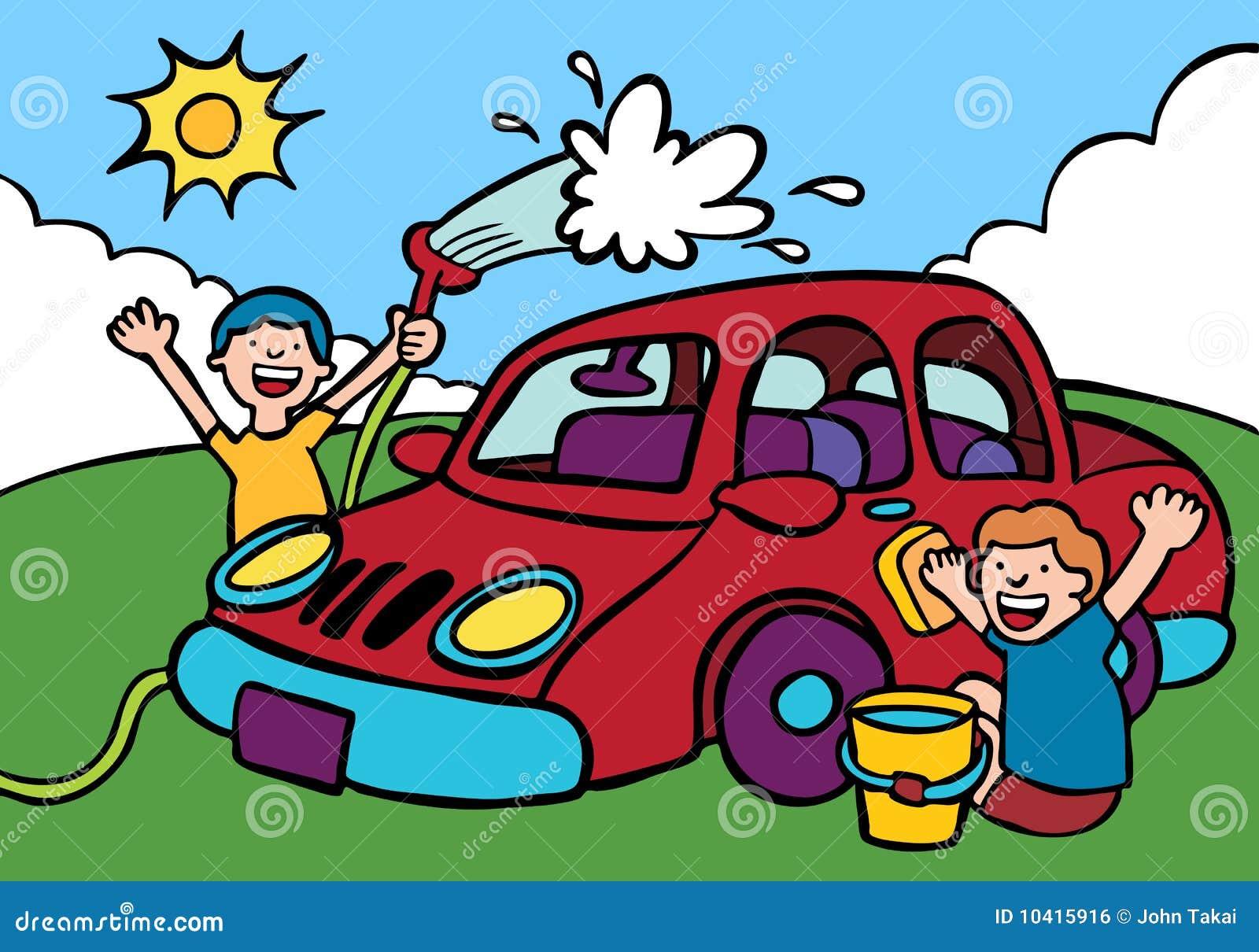 car wash illustration 10415916 megapixl