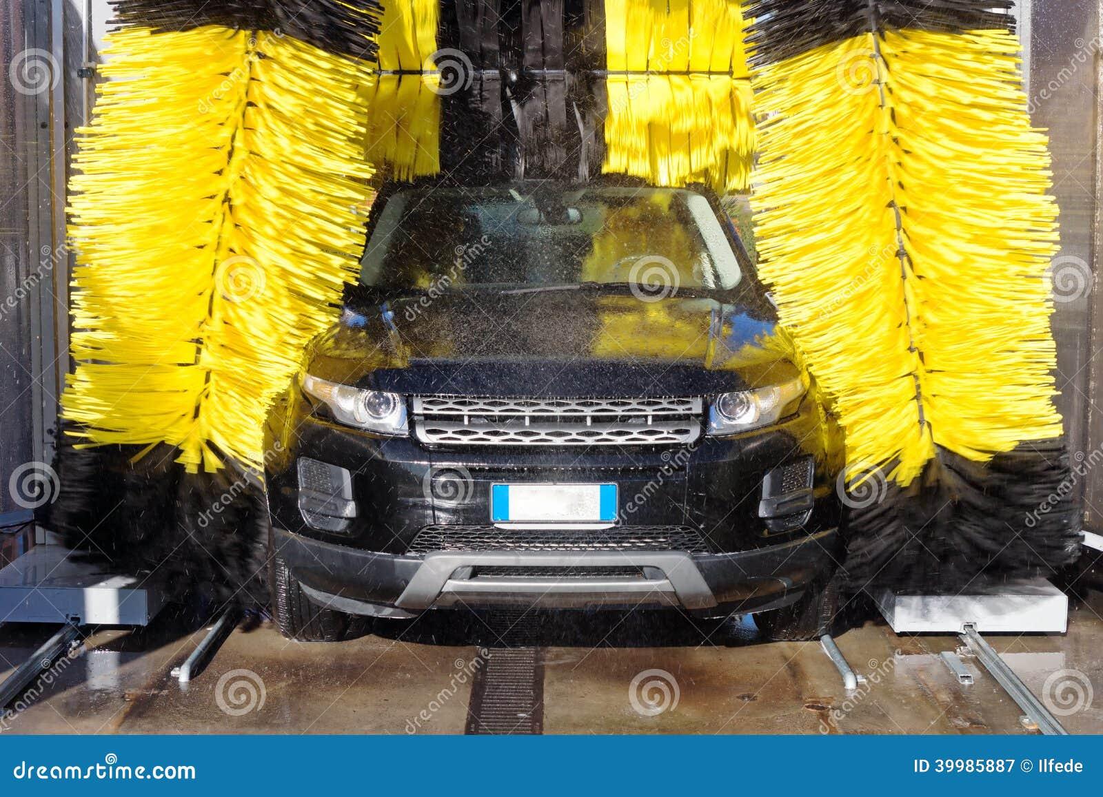 Car Wash Stock Photo Image 39985887