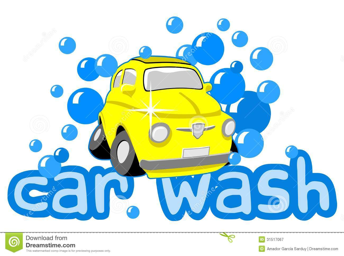 Car Wash Stock Vector Image Of Work Service Carwash