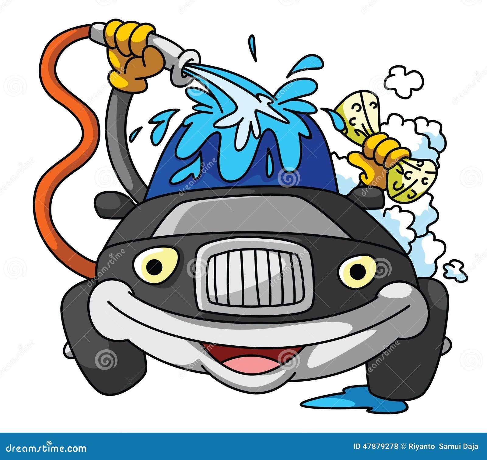 Animasi Cuci Mobil Medsos Kini