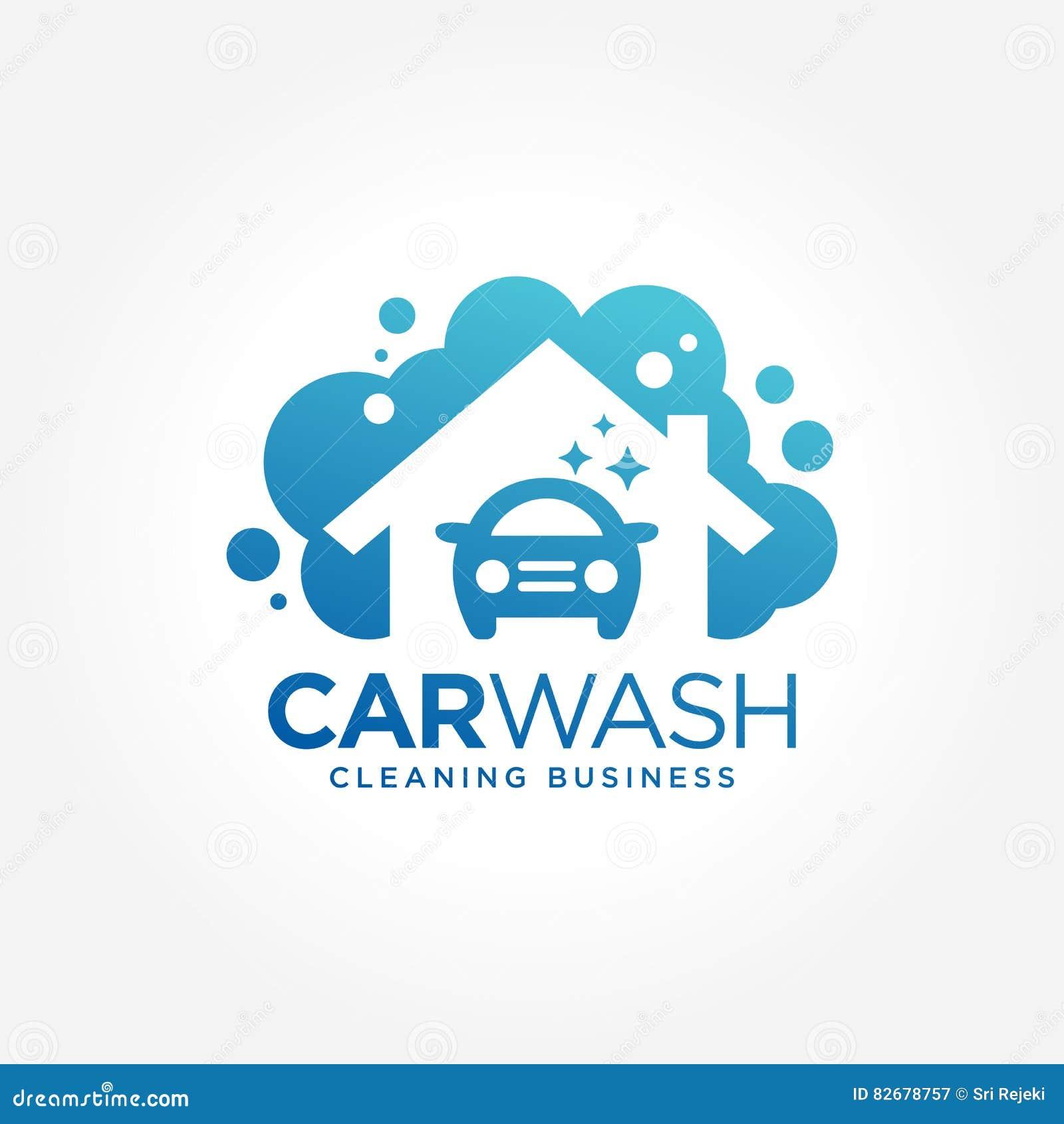 Car Wash Logo Design Stock Vector Illustration Of Luxury 82678757