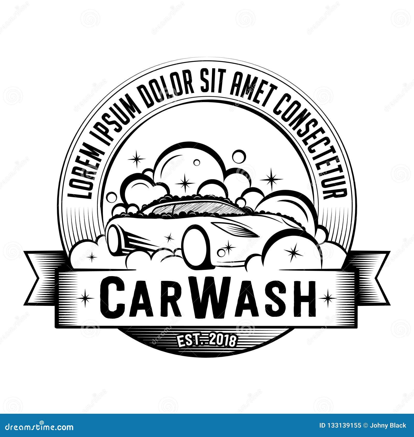 Car Wash Logo  Vector And Illustration  Stock Vector