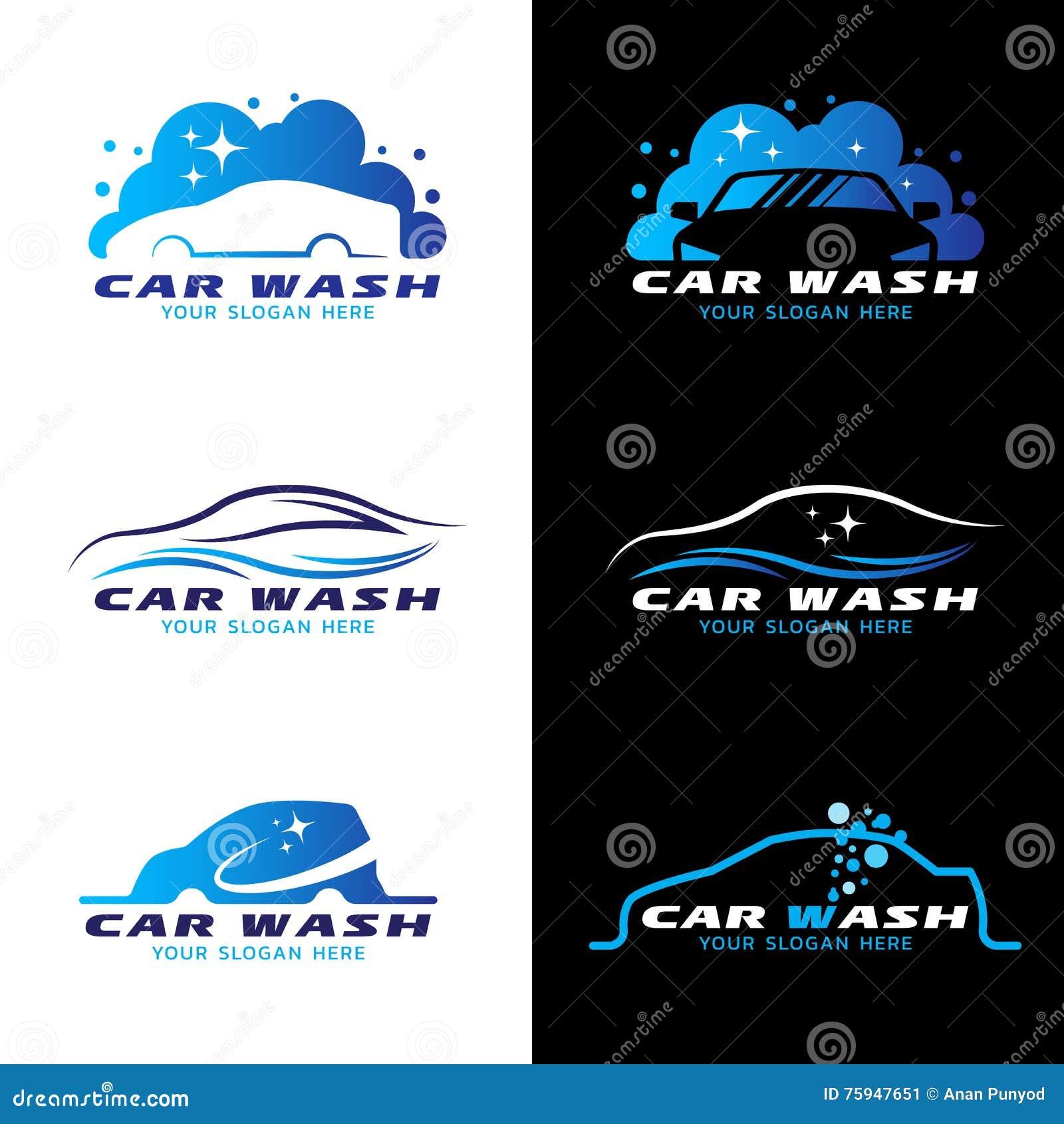 Car Wash Service Logo ...