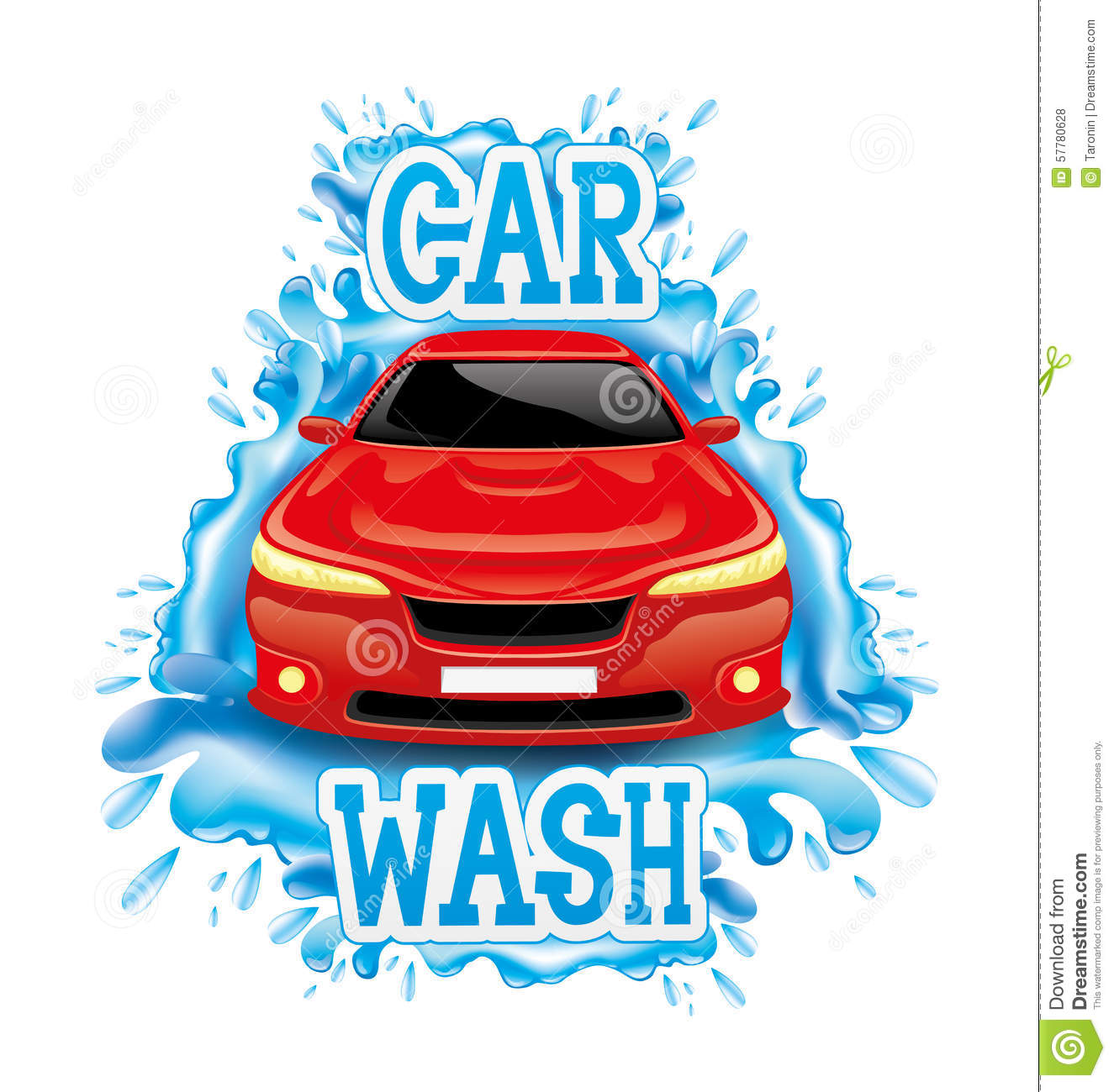 Car Detailing Prices >> Car wash stock vector. Illustration of auto, concept ...