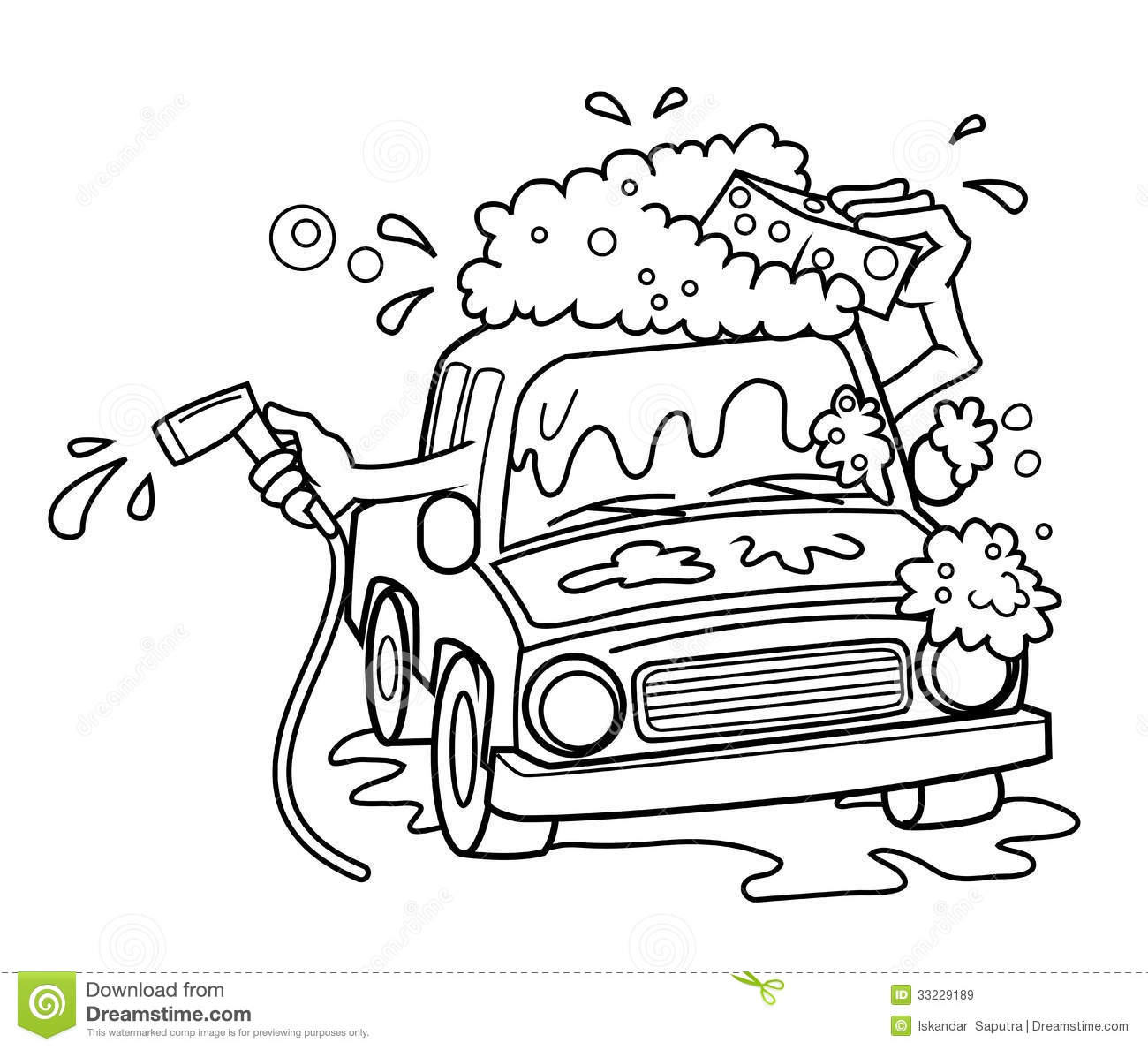 free cartoon car wash clipart - photo #49