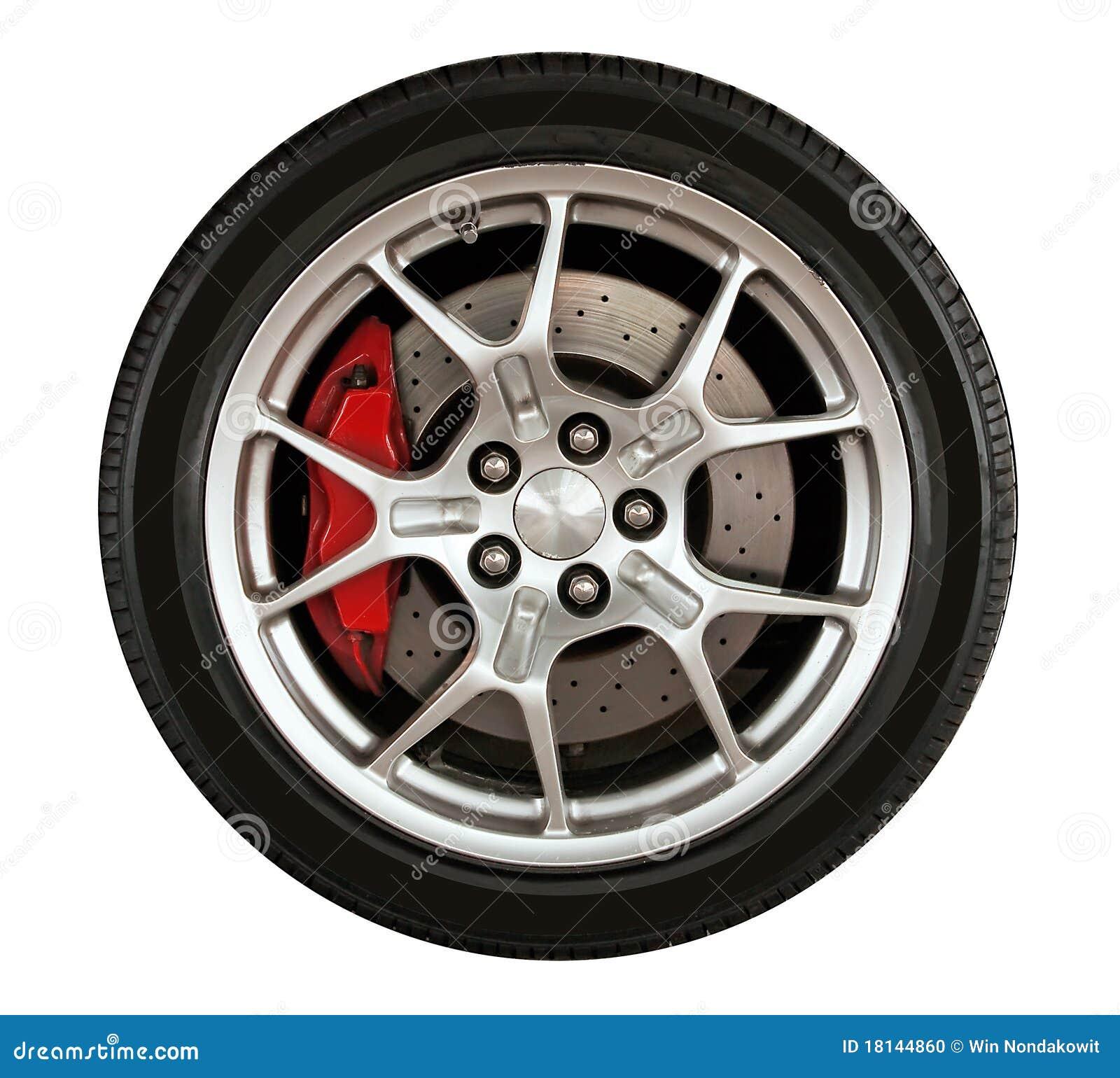 Car Wheel Stock Photo. Image Of Whitetransport