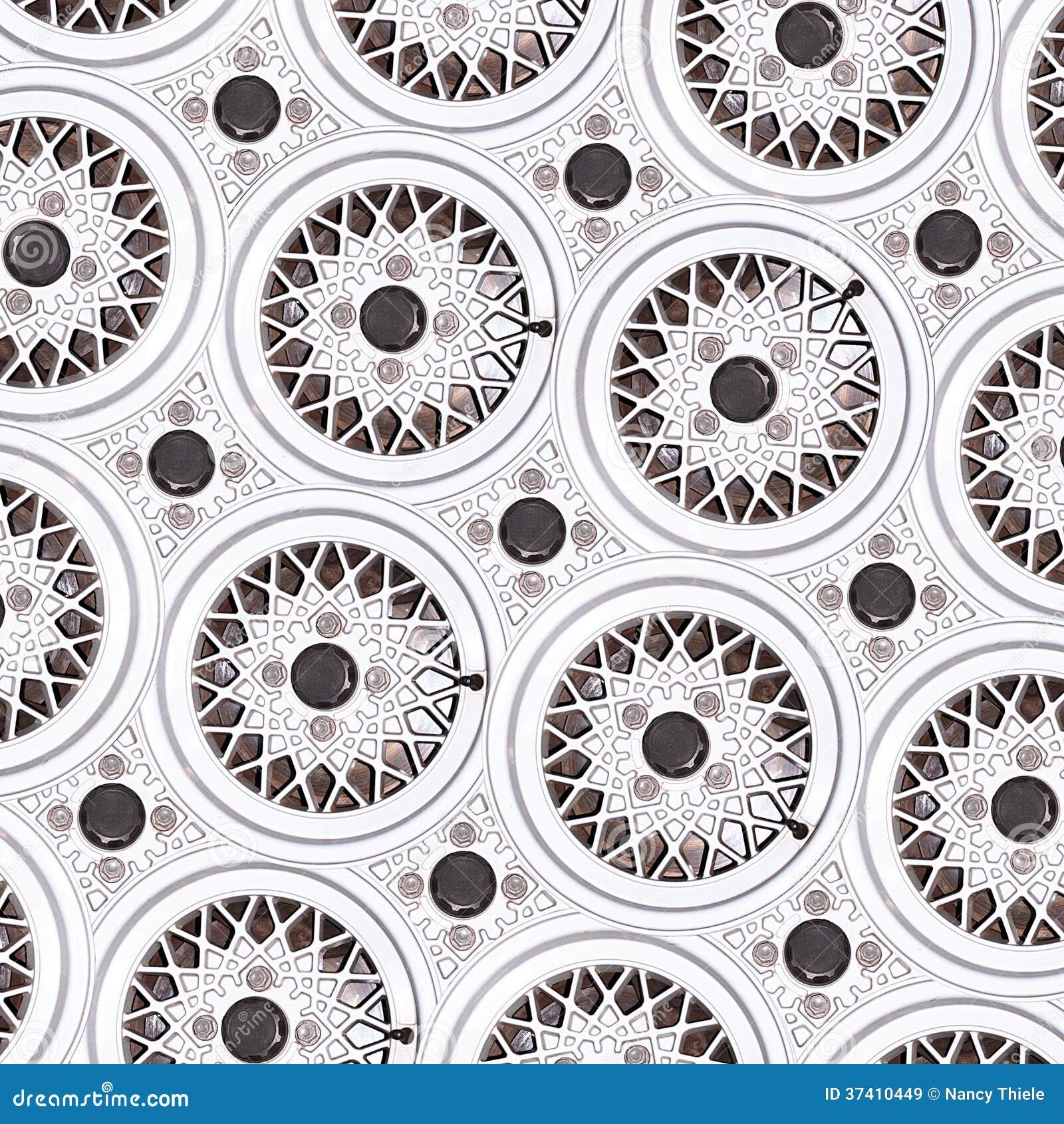 Car Wheel Riim Pattern Abstract Royalty Free Stock Images