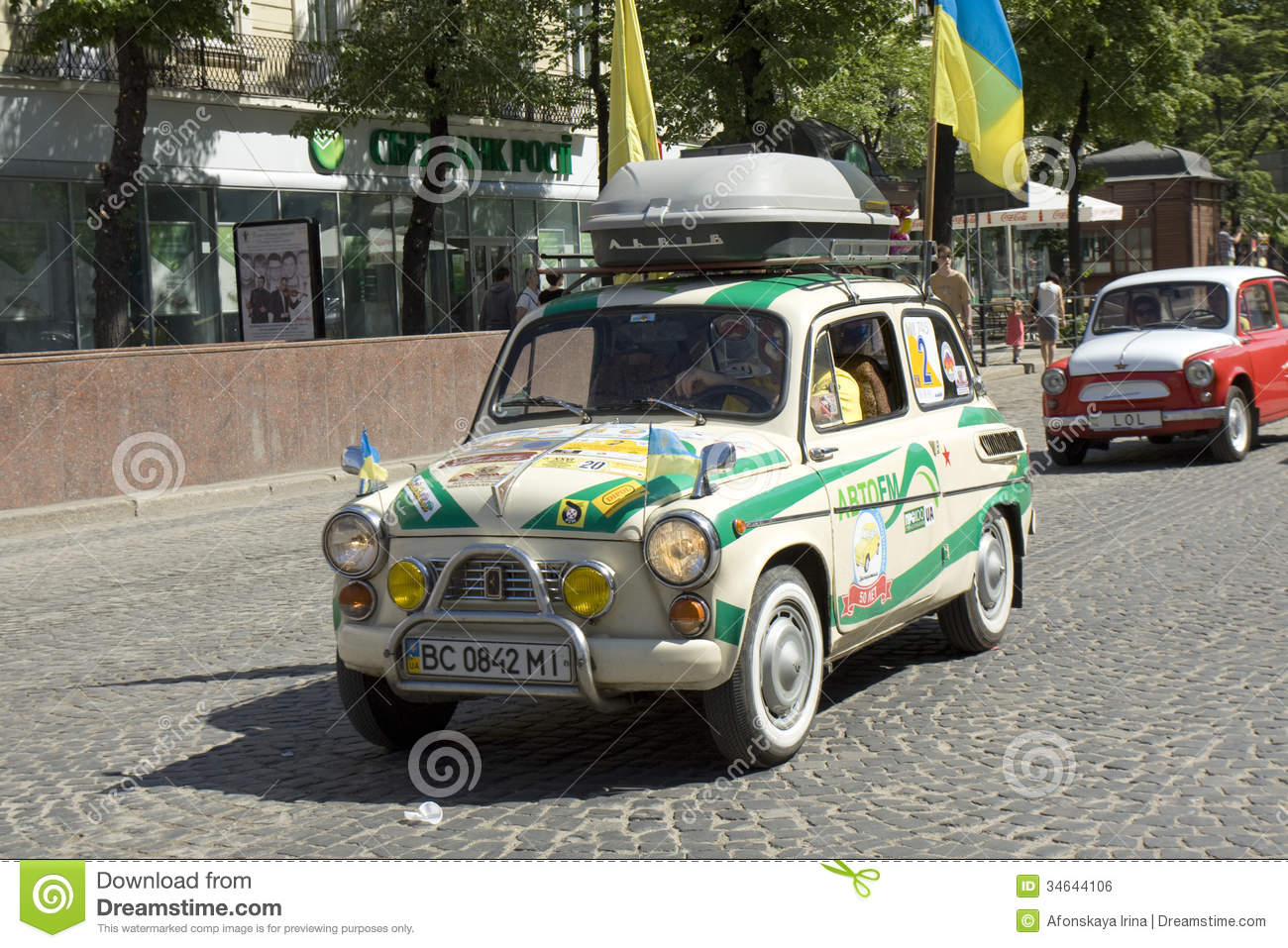 Car Zaporozhets editorial photo  Image of classical, motor - 34644106