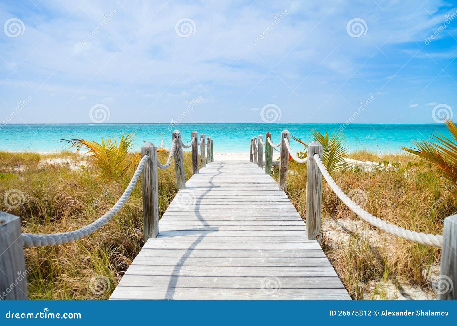 Caraïbisch strand