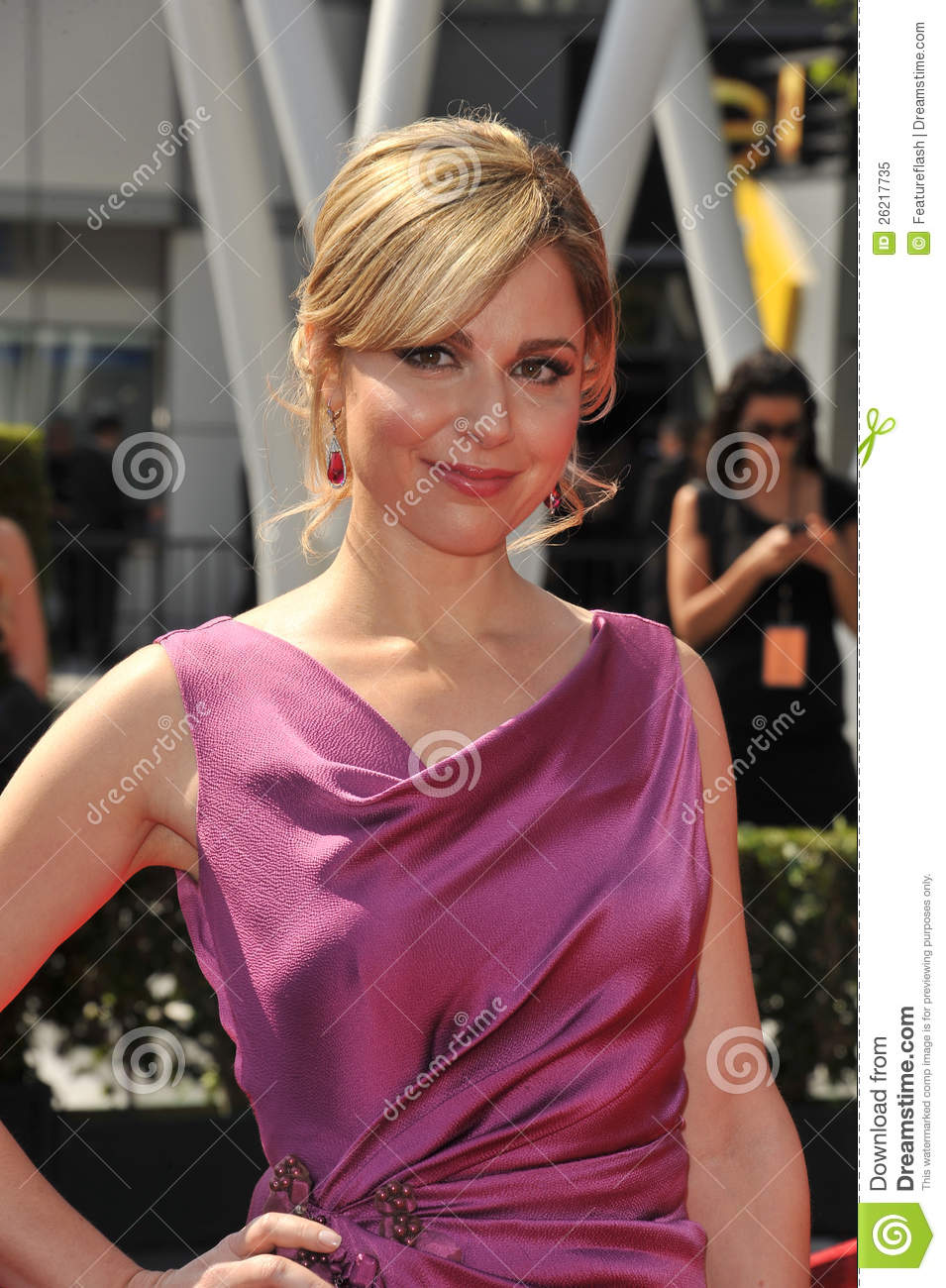 Cara Buono at the 2011 Primetime Creative Arts Emmy Awards at the ...