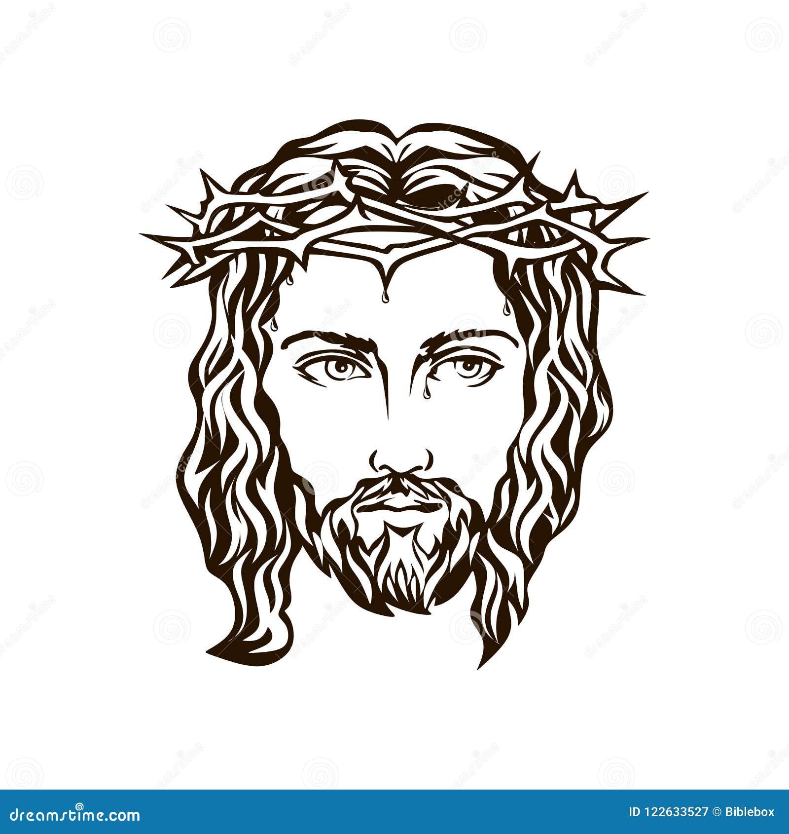 Cara da mão de Jesus tirada
