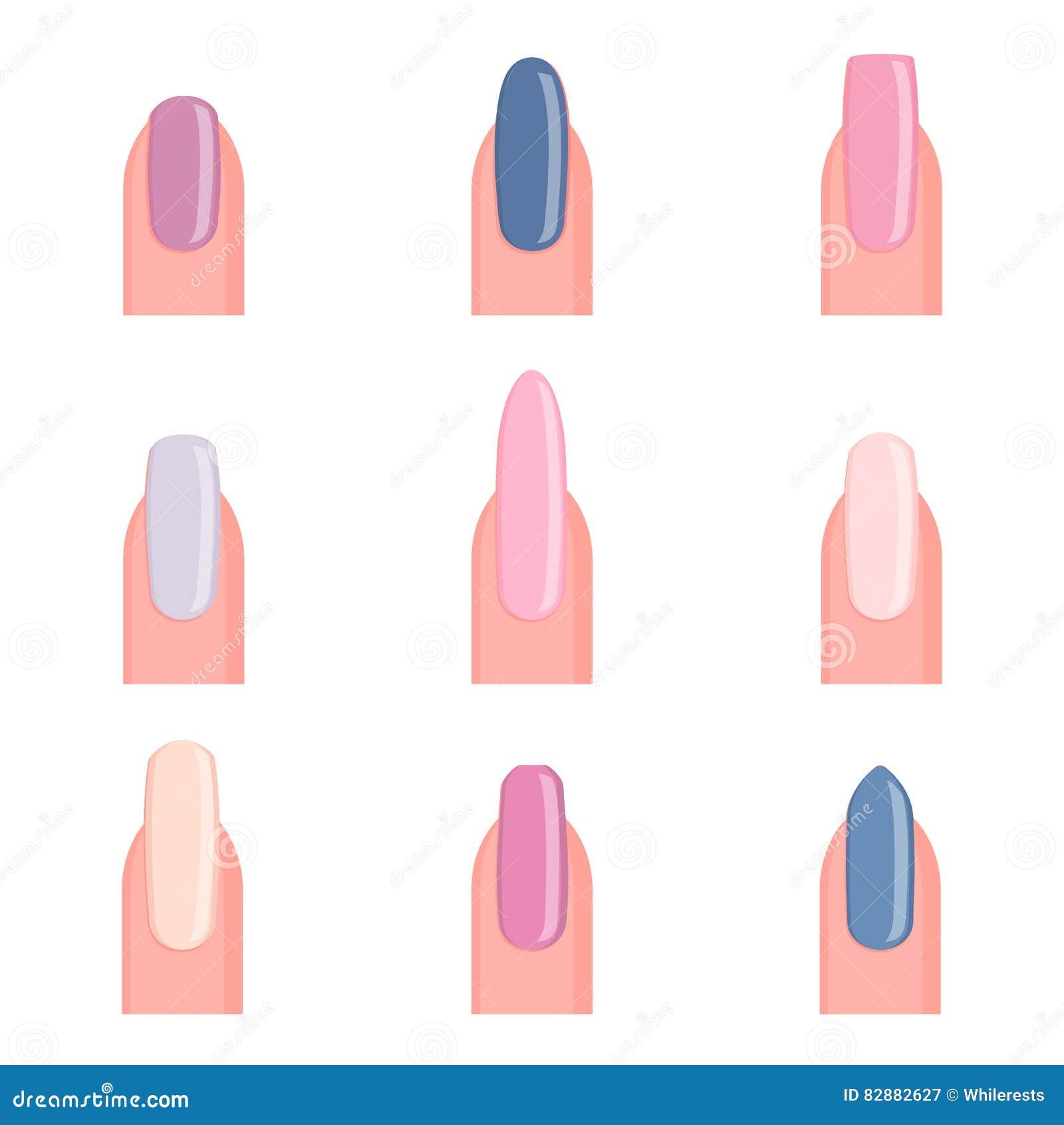Cara da menina da beleza com verniz para as unhas colorido Estúdio colorido disparado da jovem mulher Cores vívidas Tratamento de