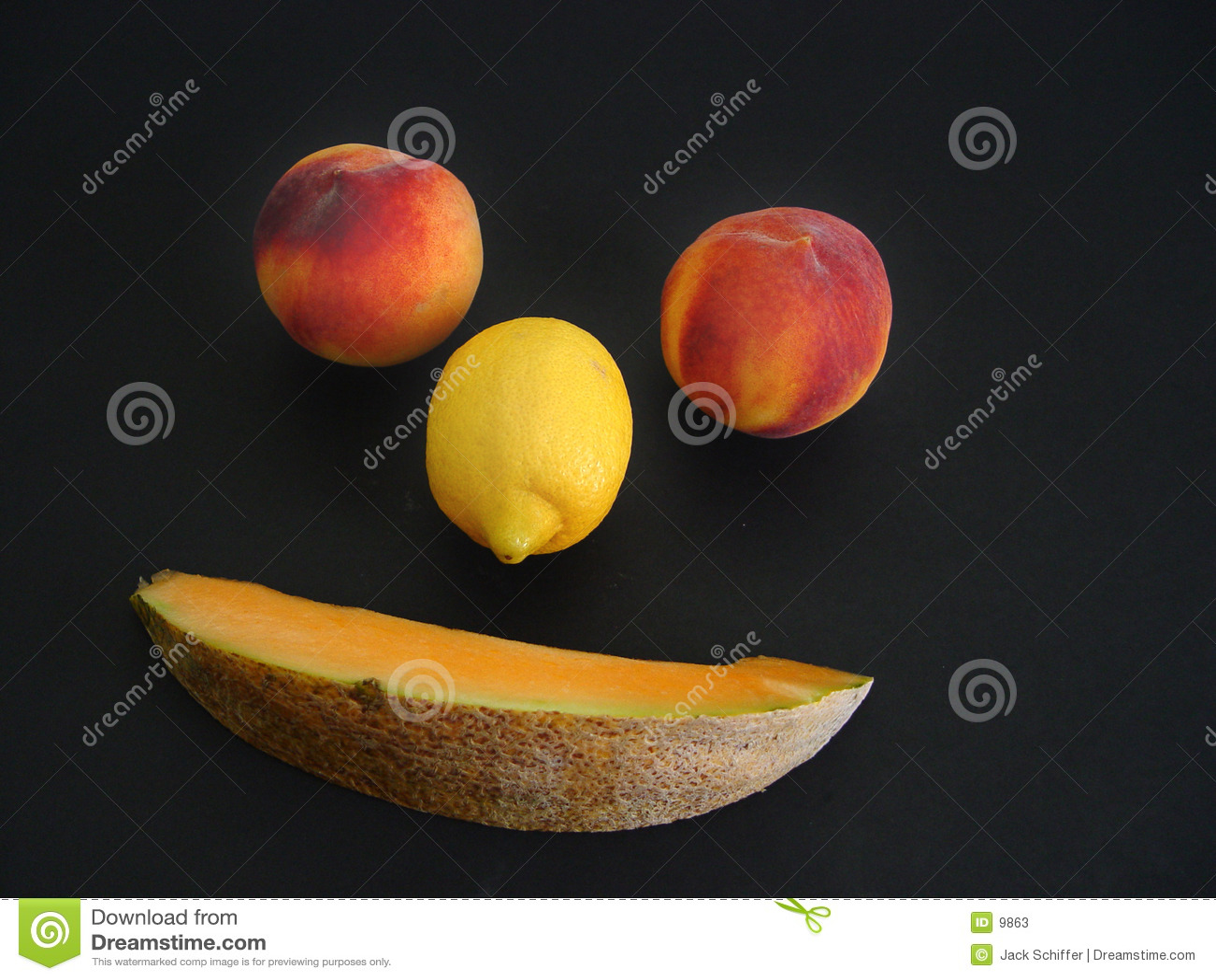 Cara de la fruta