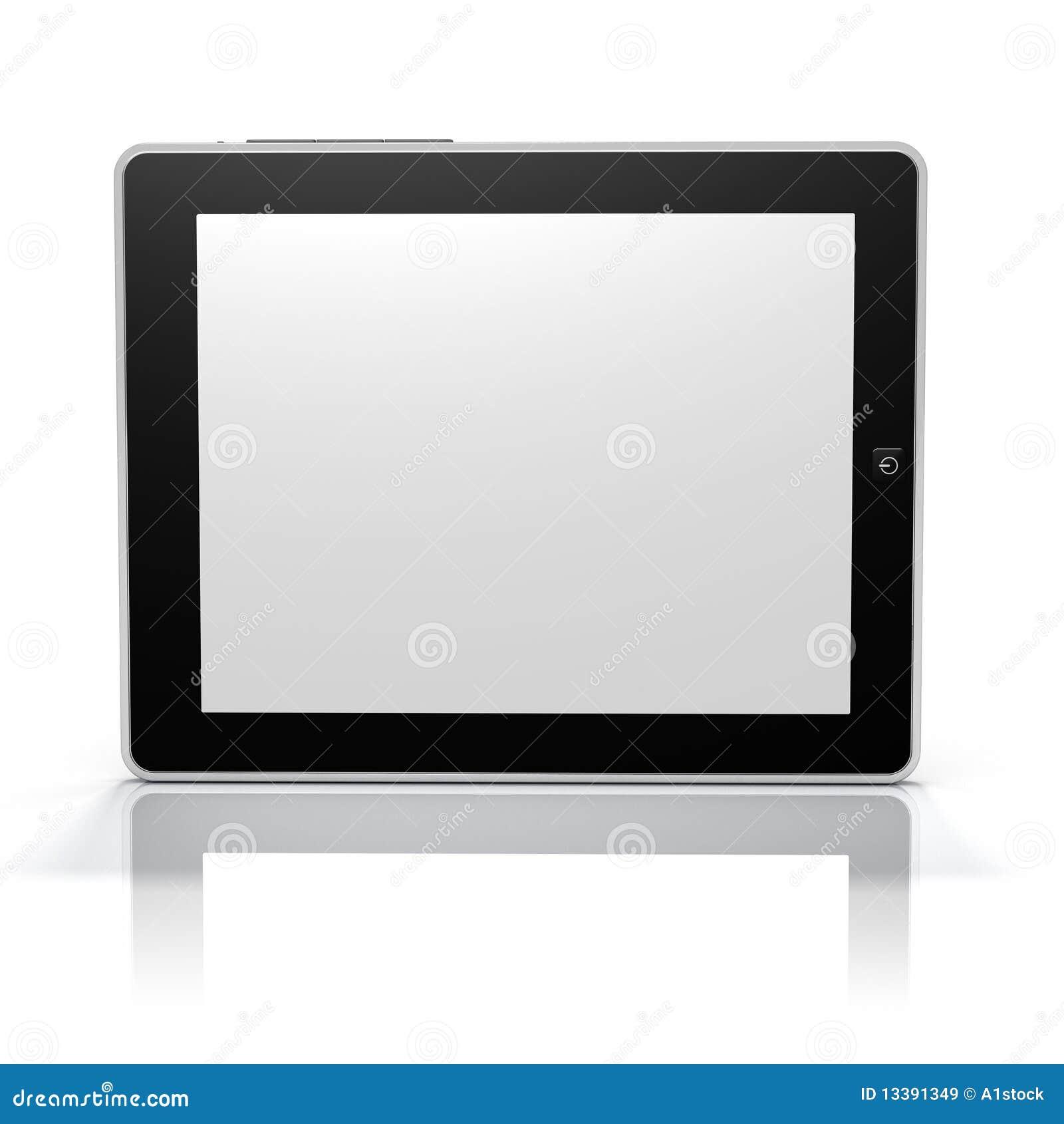 Cara de la pantalla de la PC de la tablilla (pantalla y objeto del camino del clip)