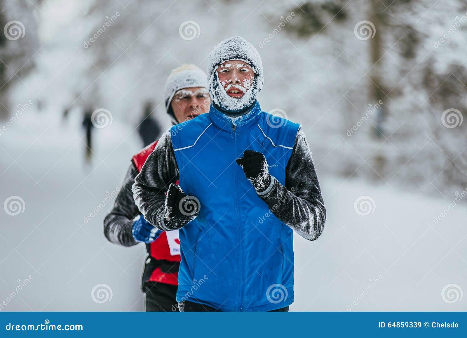 Resultado de imagen de corredor cara helada