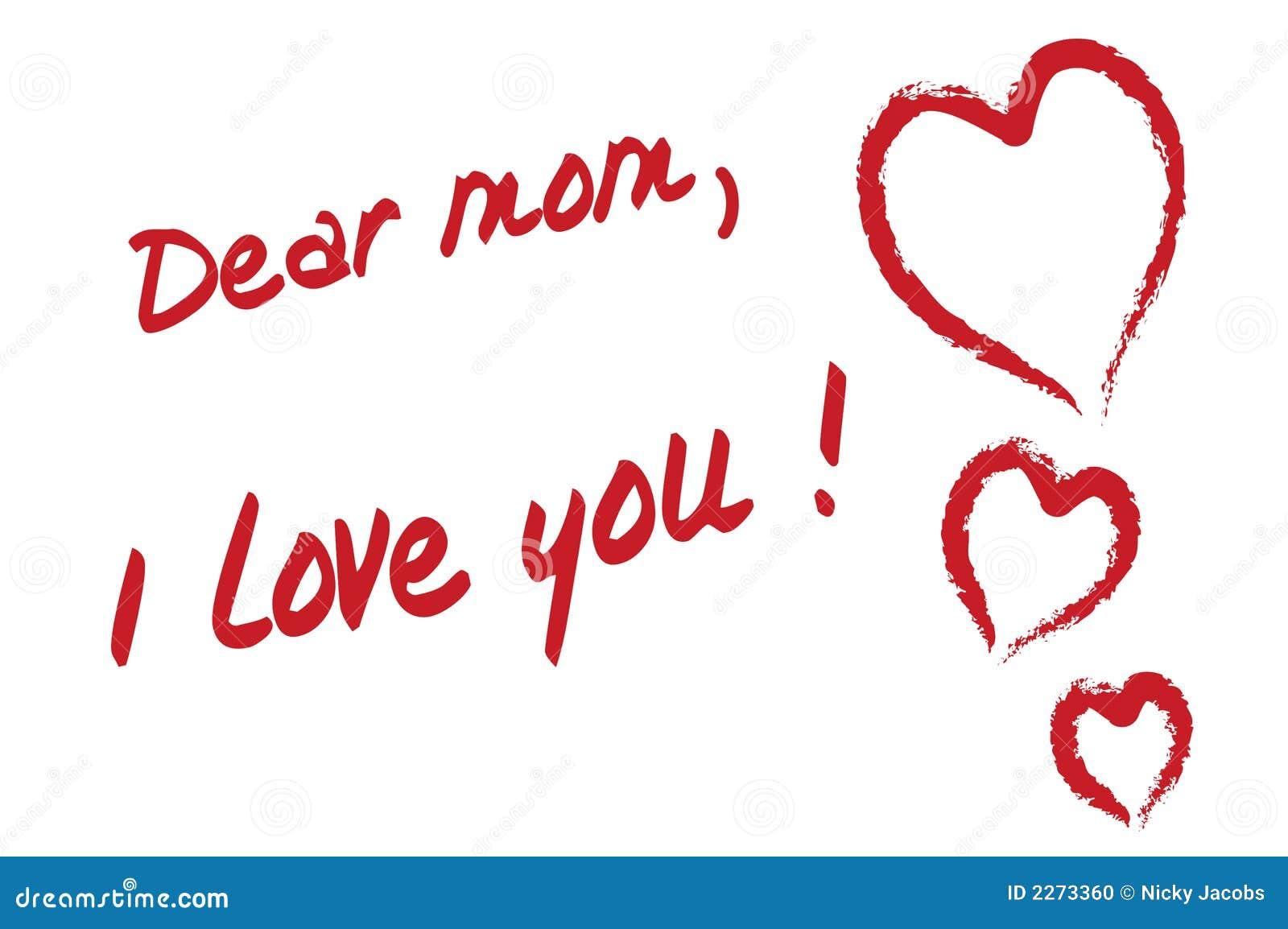 Cara mamã eu te amo