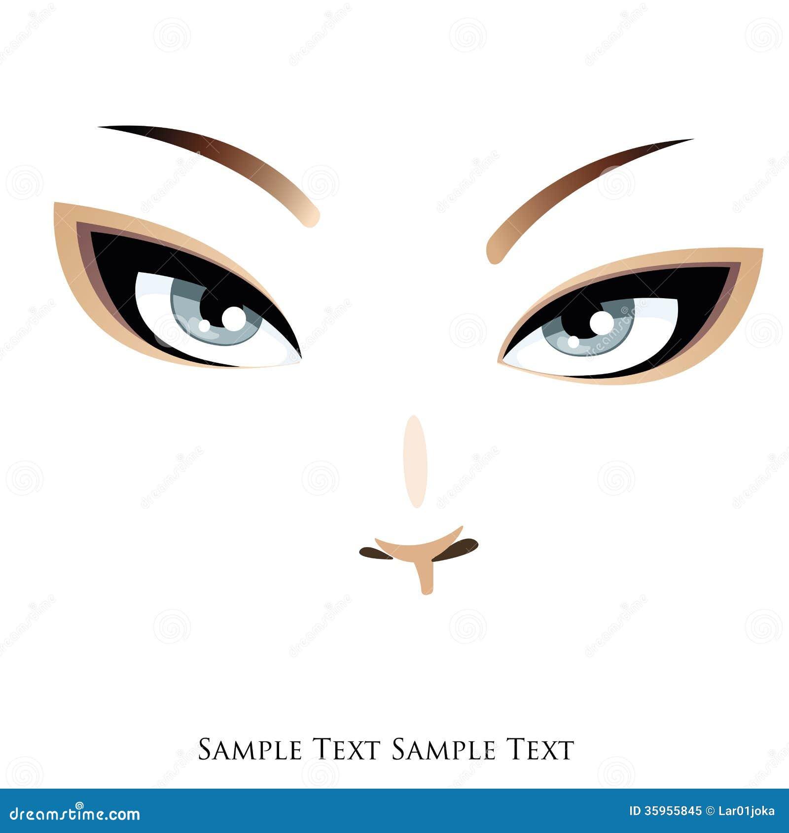 Cara y ojos