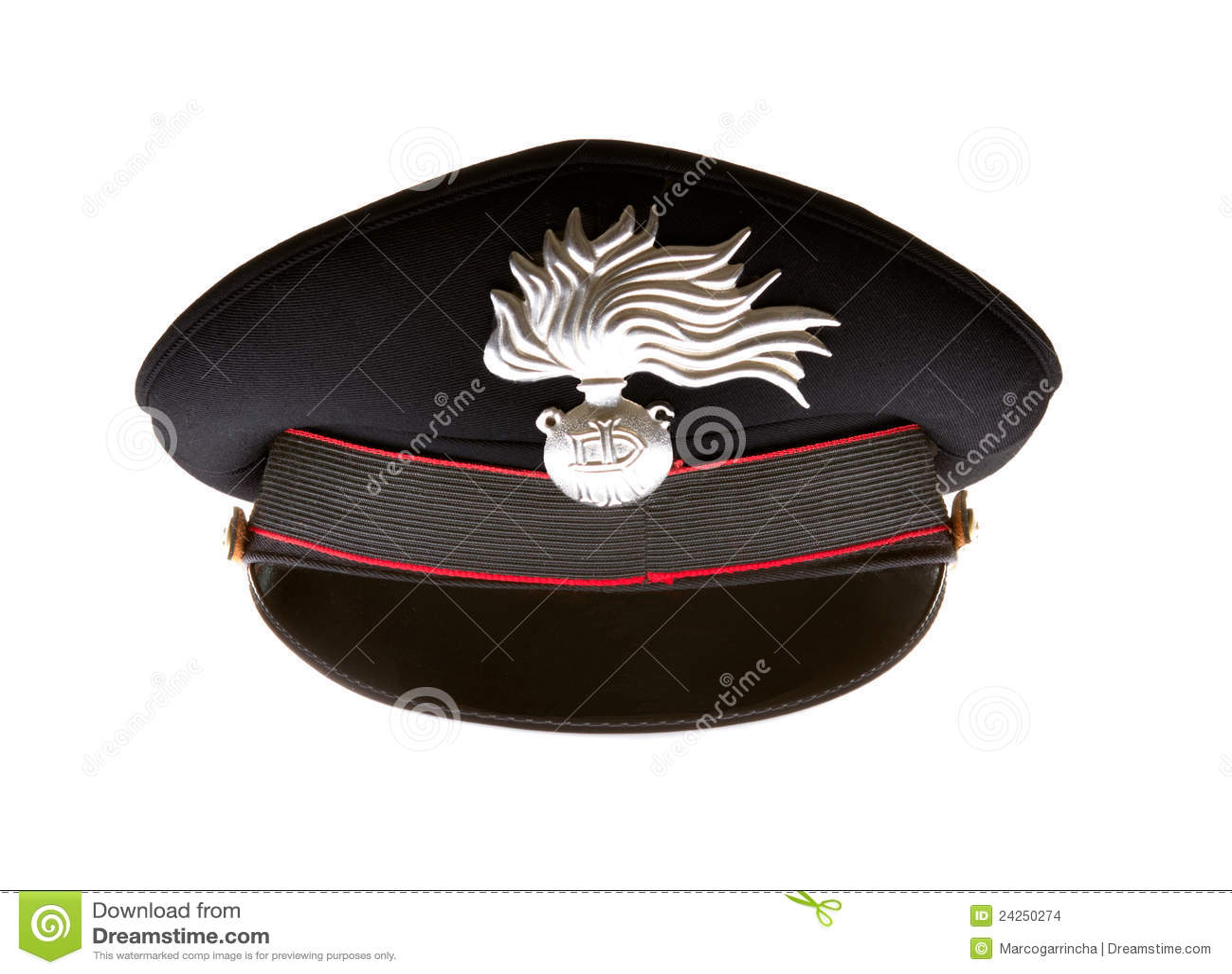 Carabiniere Hat Of Italian Carabinieri Stock Images - Image: 24250274
