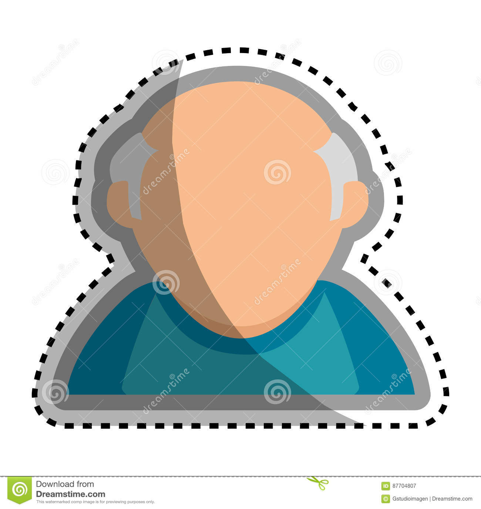 Caractère première génération mignon d avatar