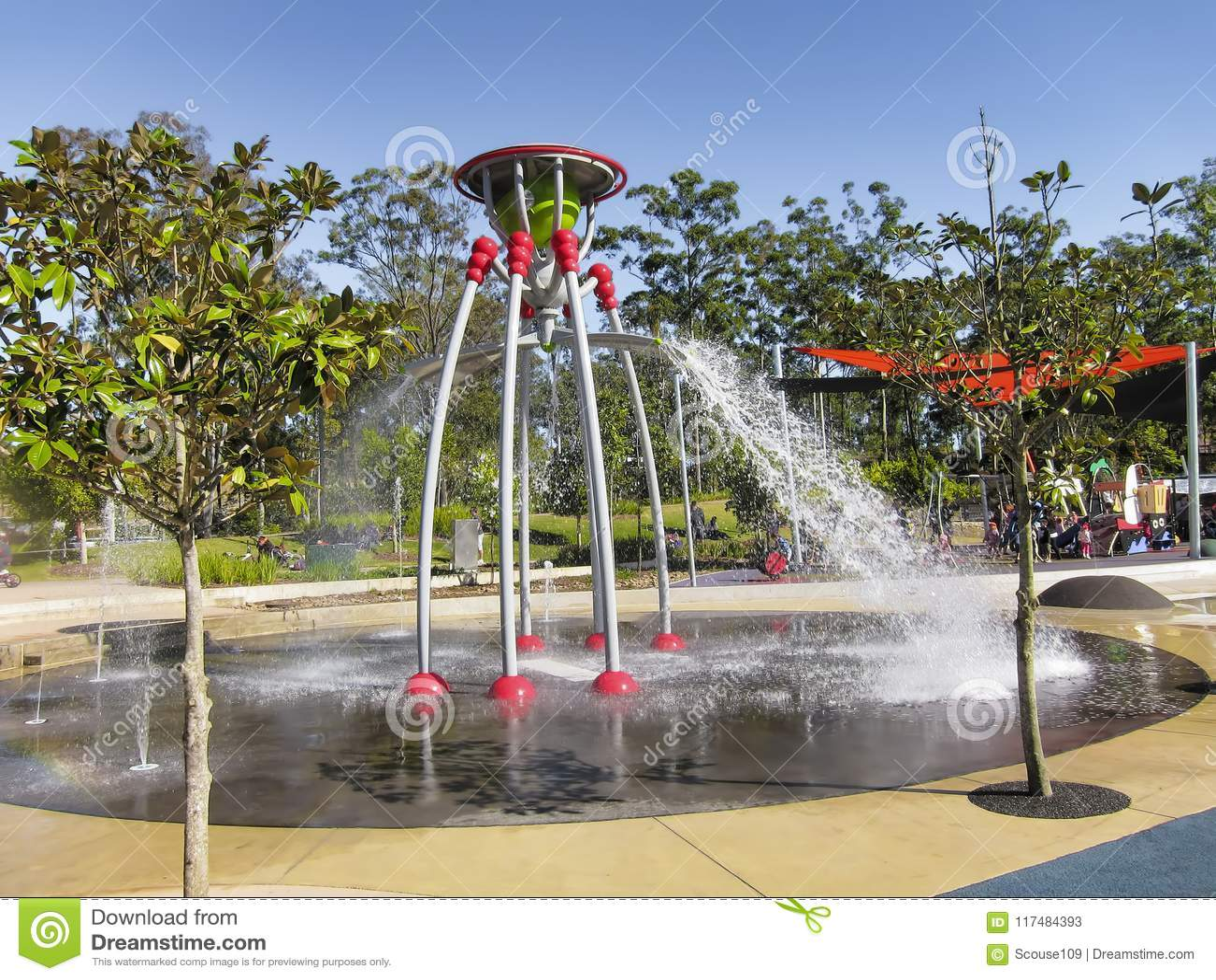 Caractéristique de l eau en parc public