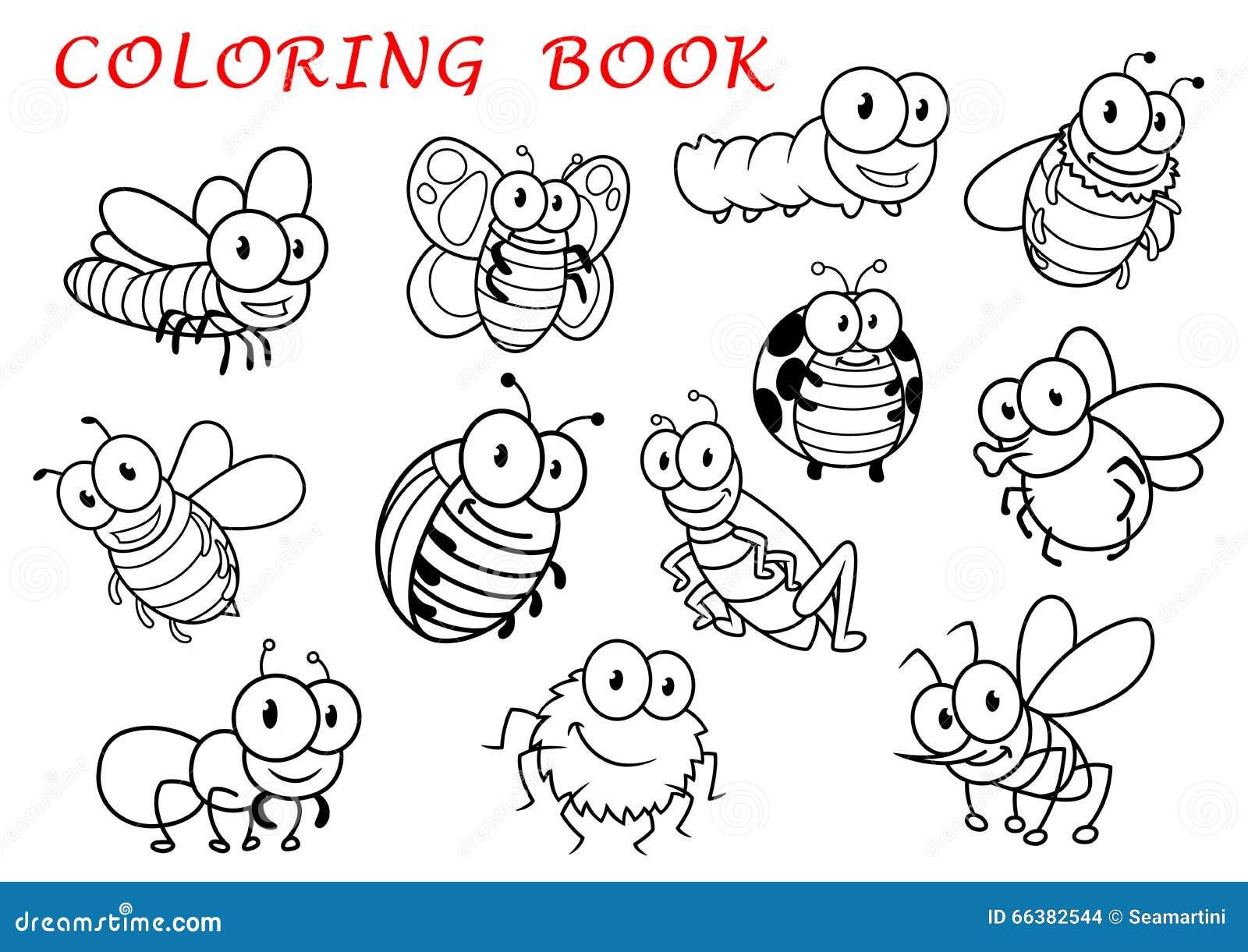 Lujo Insecto Para Colorear Molde - Ideas Para Colorear ...