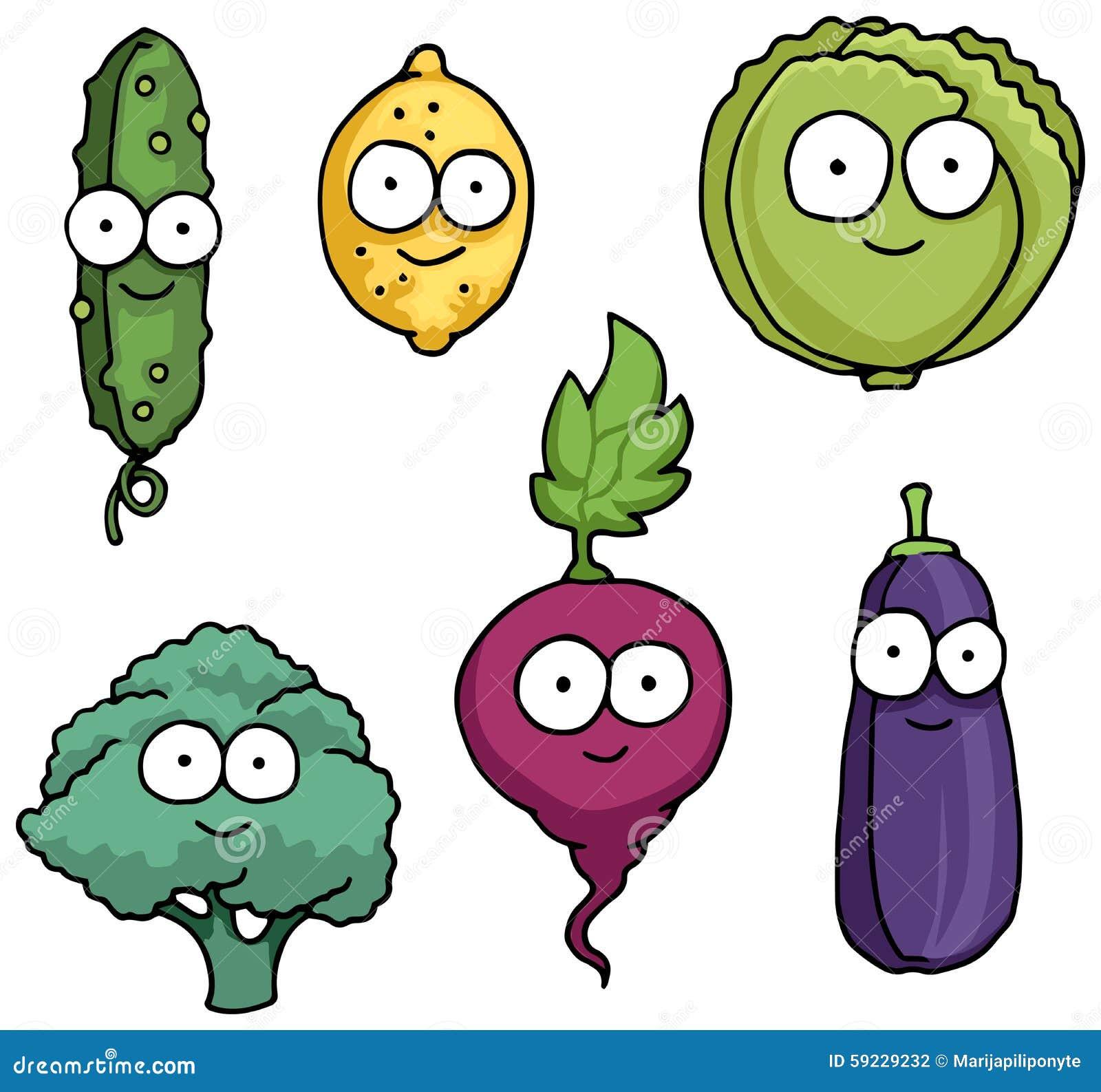 Download Caracteres Vegetales Felices Dibujados Mano Ilustración del Vector - Ilustración de caracteres, ornamento: 59229232