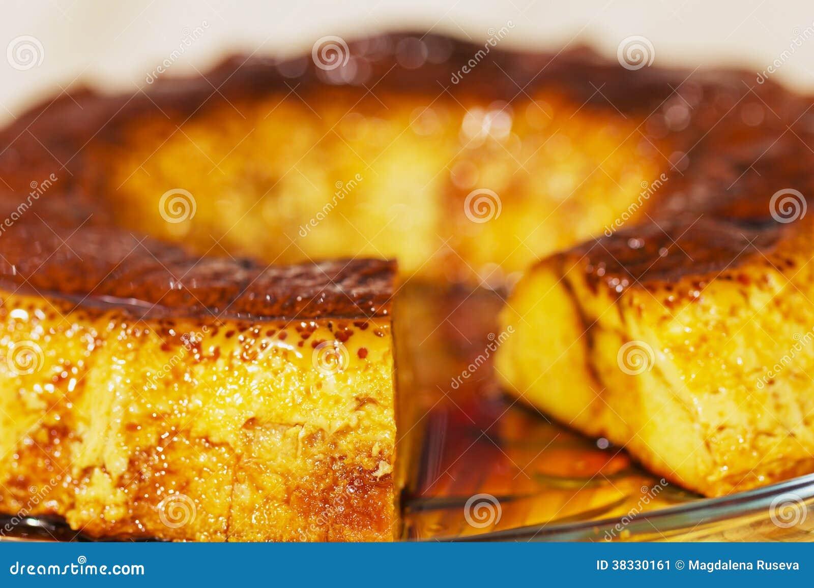 Caramel Custard, Flan. Creme Caramel Stock Image - Image: 38330161