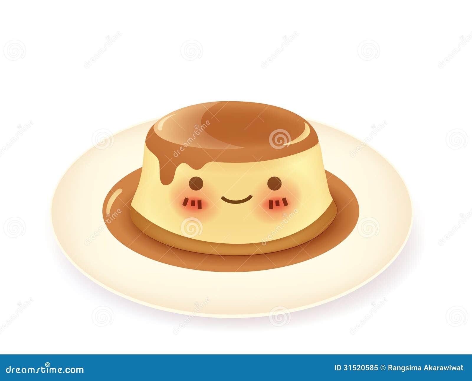 Royalty Free Stock Photo Caramel Custard Pudding