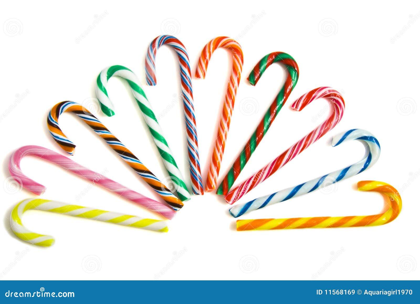 Caramelo-bastones dulces imagen de archivo. Imagen de colores ...