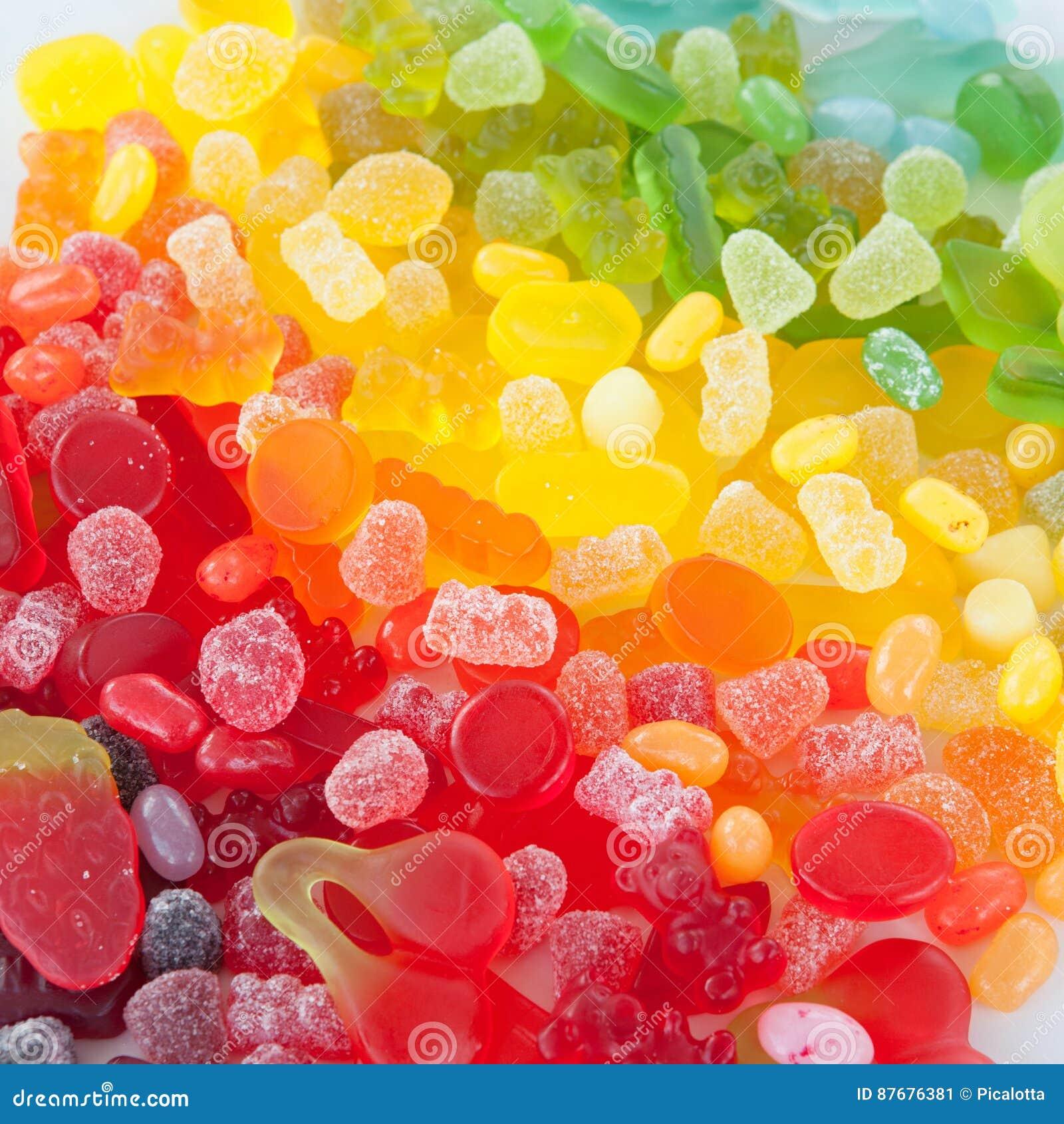 Caramelo suave colorido imagen de archivo. Imagen de brillante ...