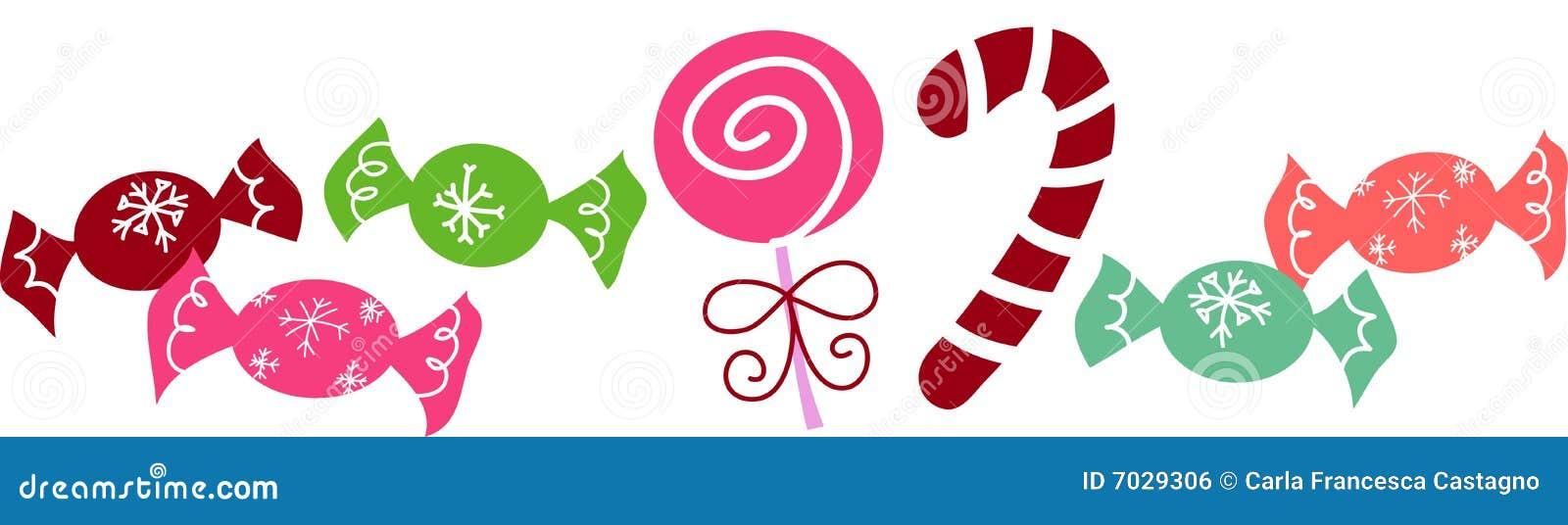 Caramelos de la navidad imagen de archivo libre de - Caramelos de navidad ...