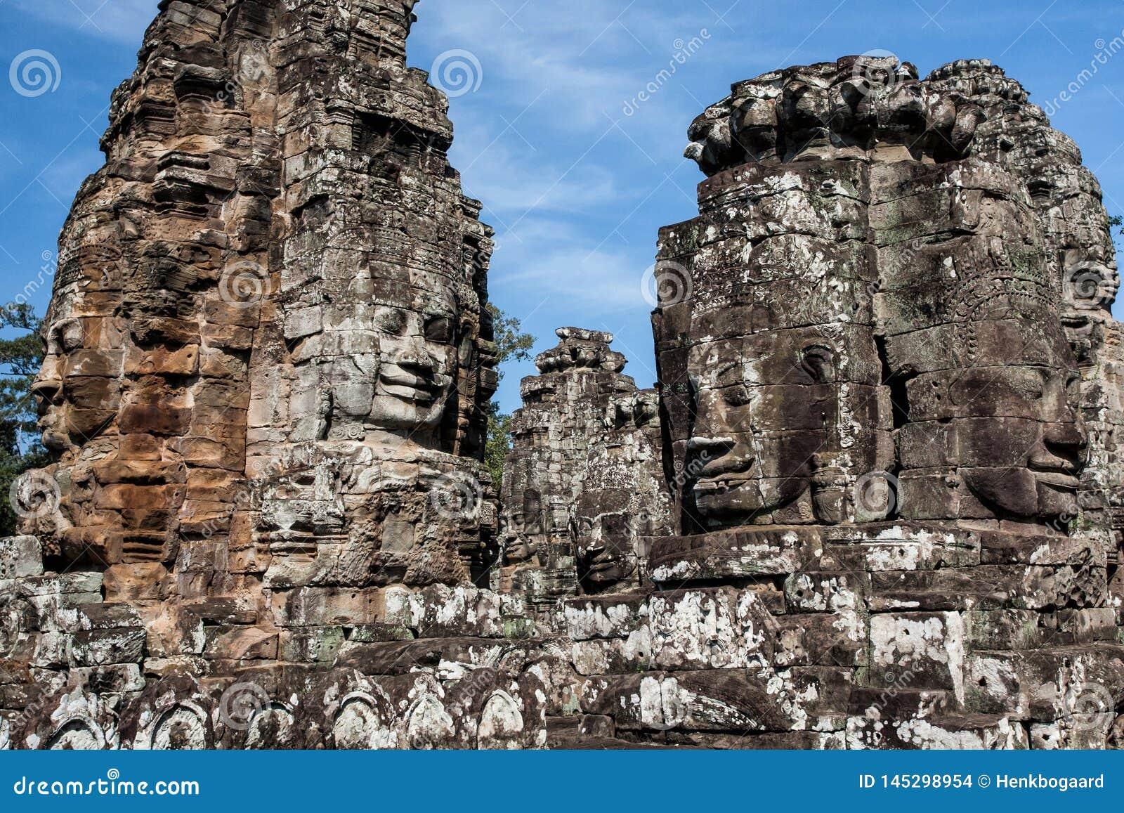 Caras de Angkor Thom - Camboya
