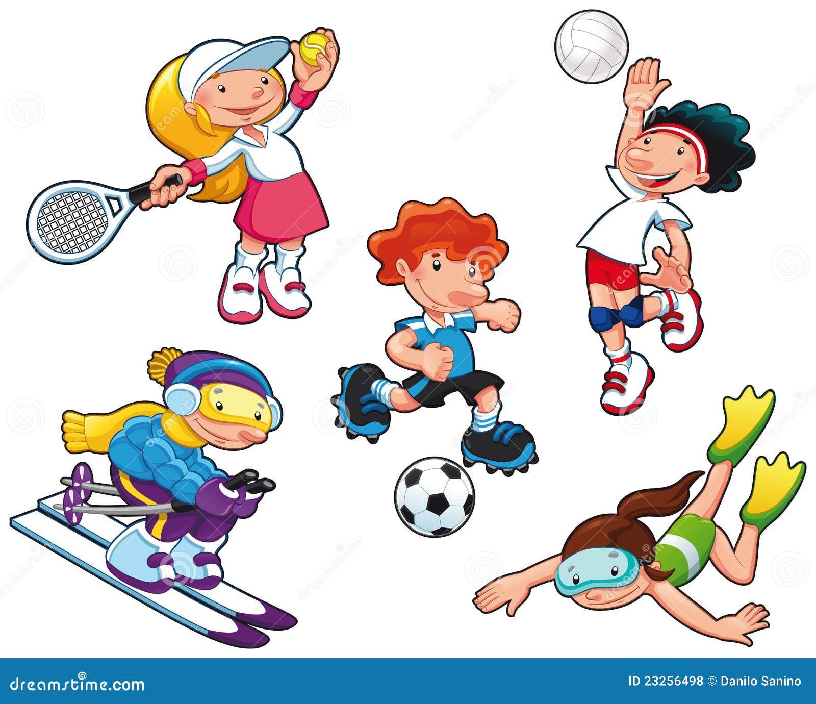Caratteri di sport.