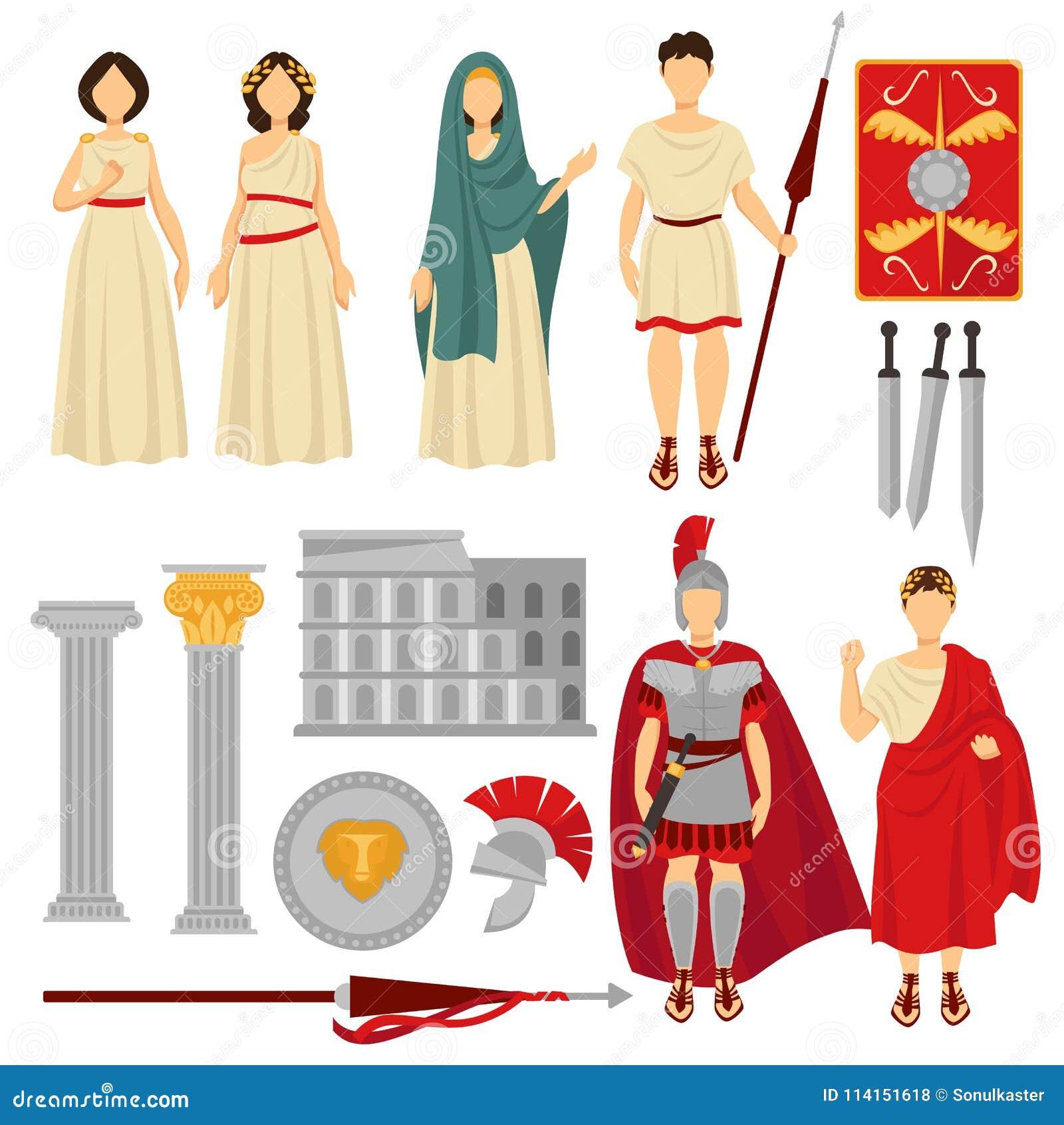 super popular 7dd84 099cb Caratteri Maschii E Femminili Di Roma Antica E Vecchie ...
