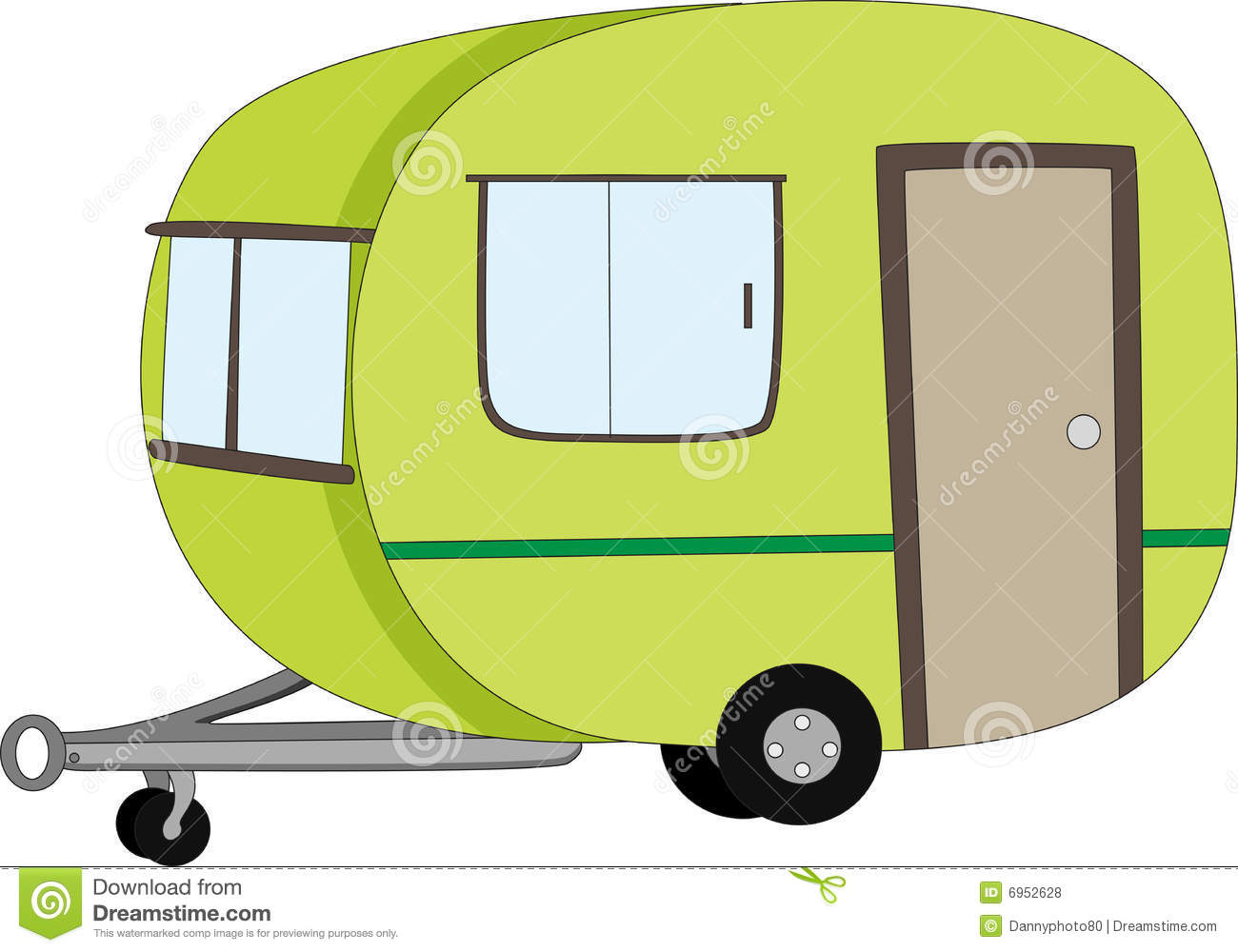 Caravan Royalty Free Stock Photos - Image: 6952628